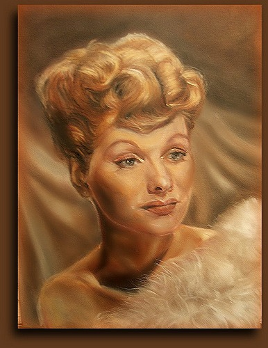 Lucile Ball by Charna