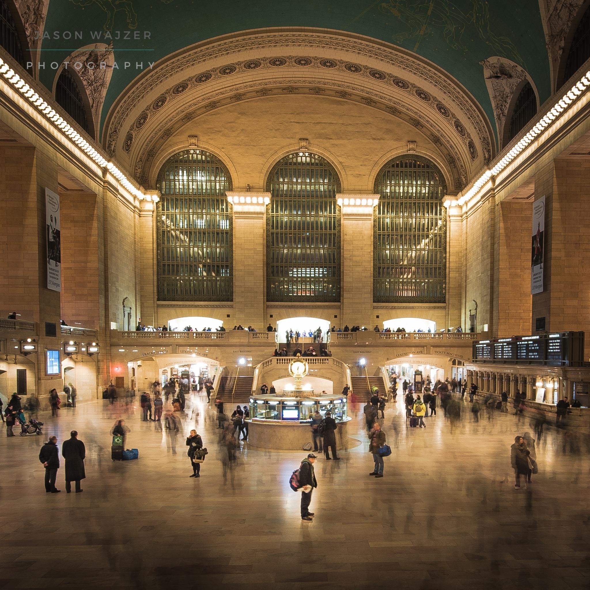 Grand Central Rush by jasonwajzerphotography