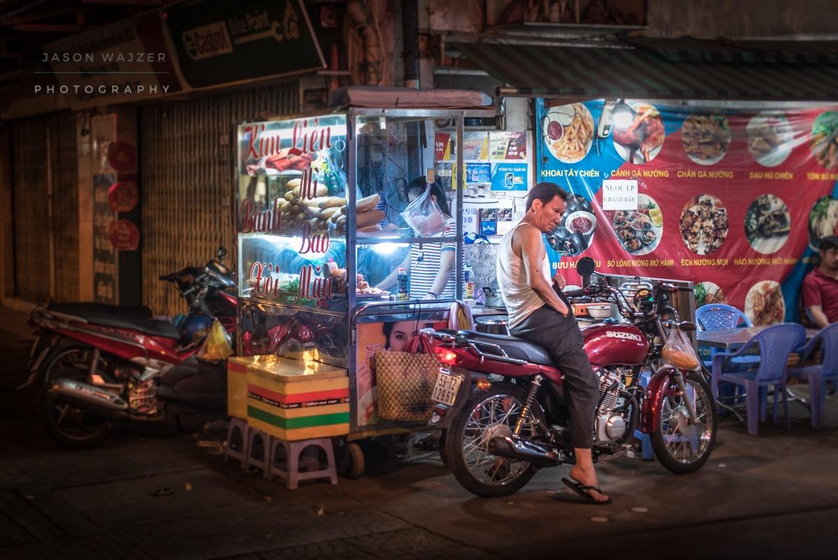 Night Stop and Snack by jasonwajzerphotography