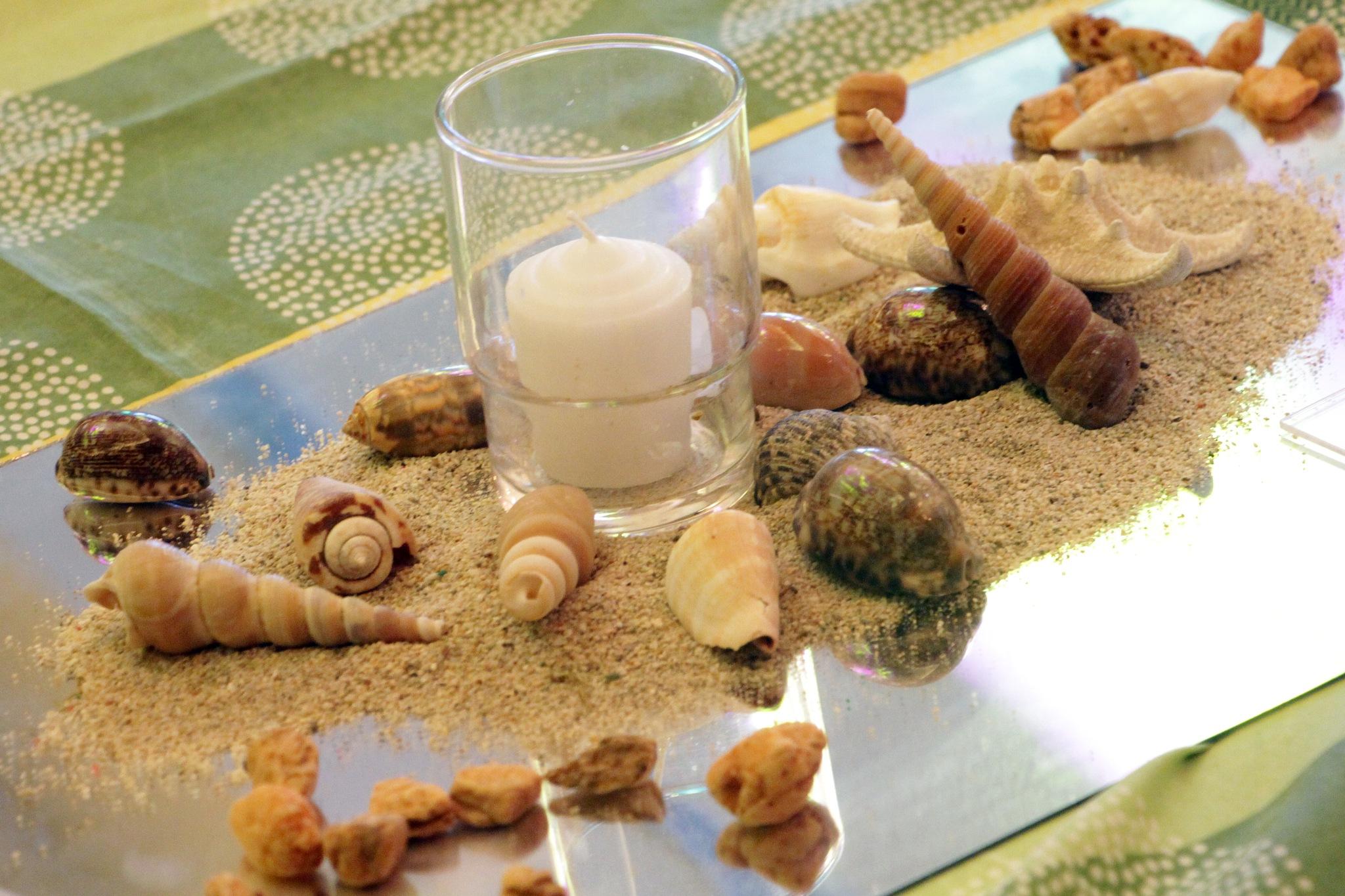 Glass & Sea Shells by rgalbarillo