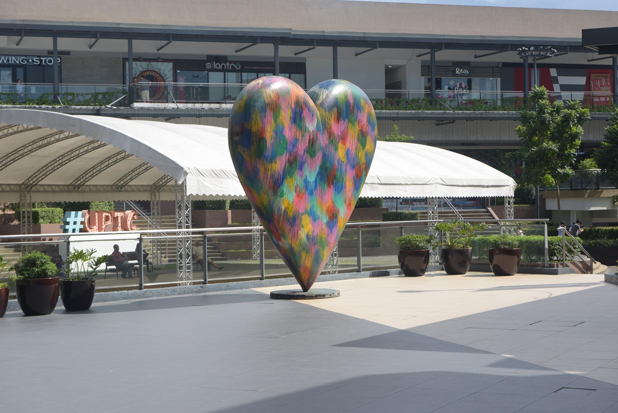 Colourful Heart Landscape by rgalbarillo