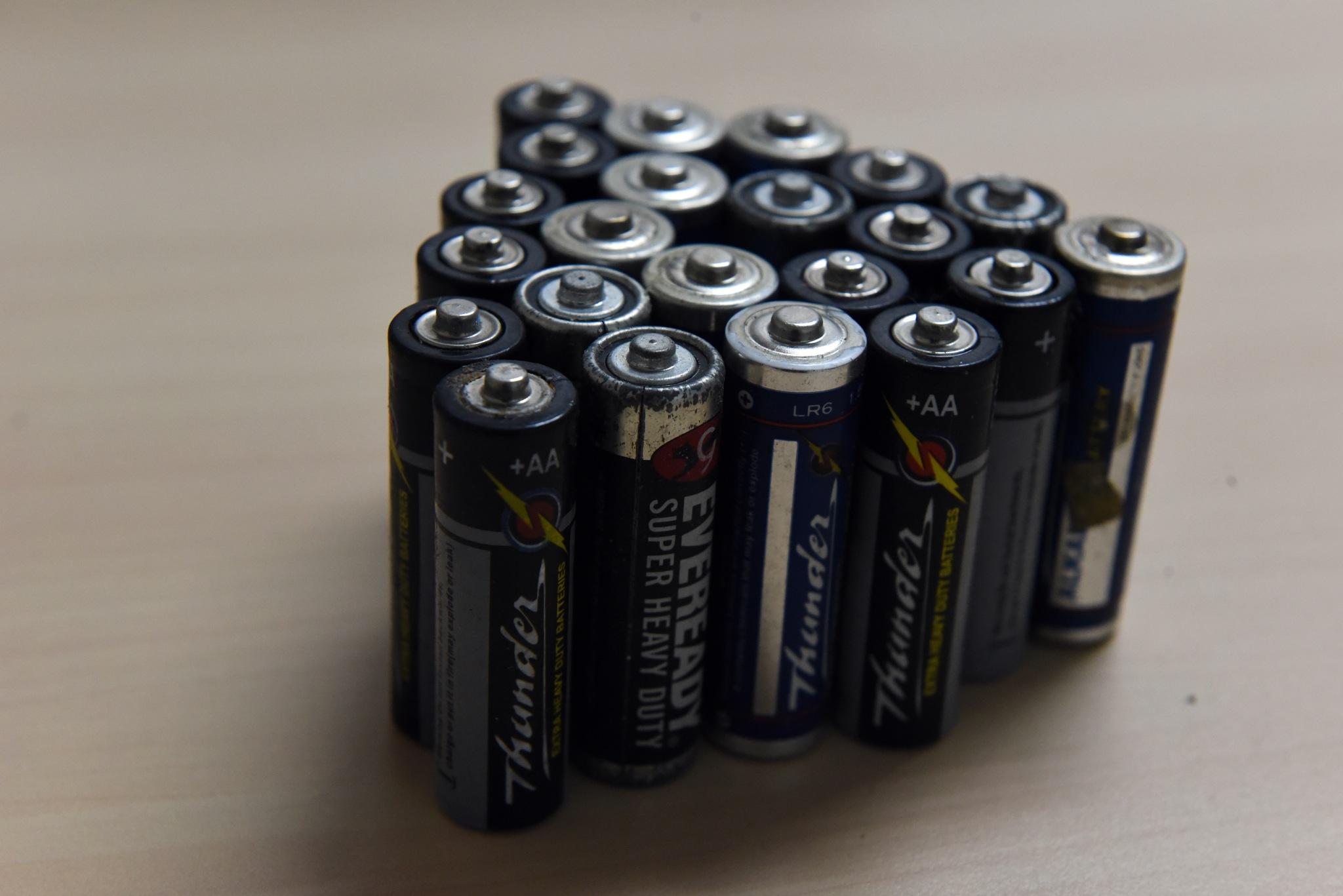Old Batteries by rgalbarillo