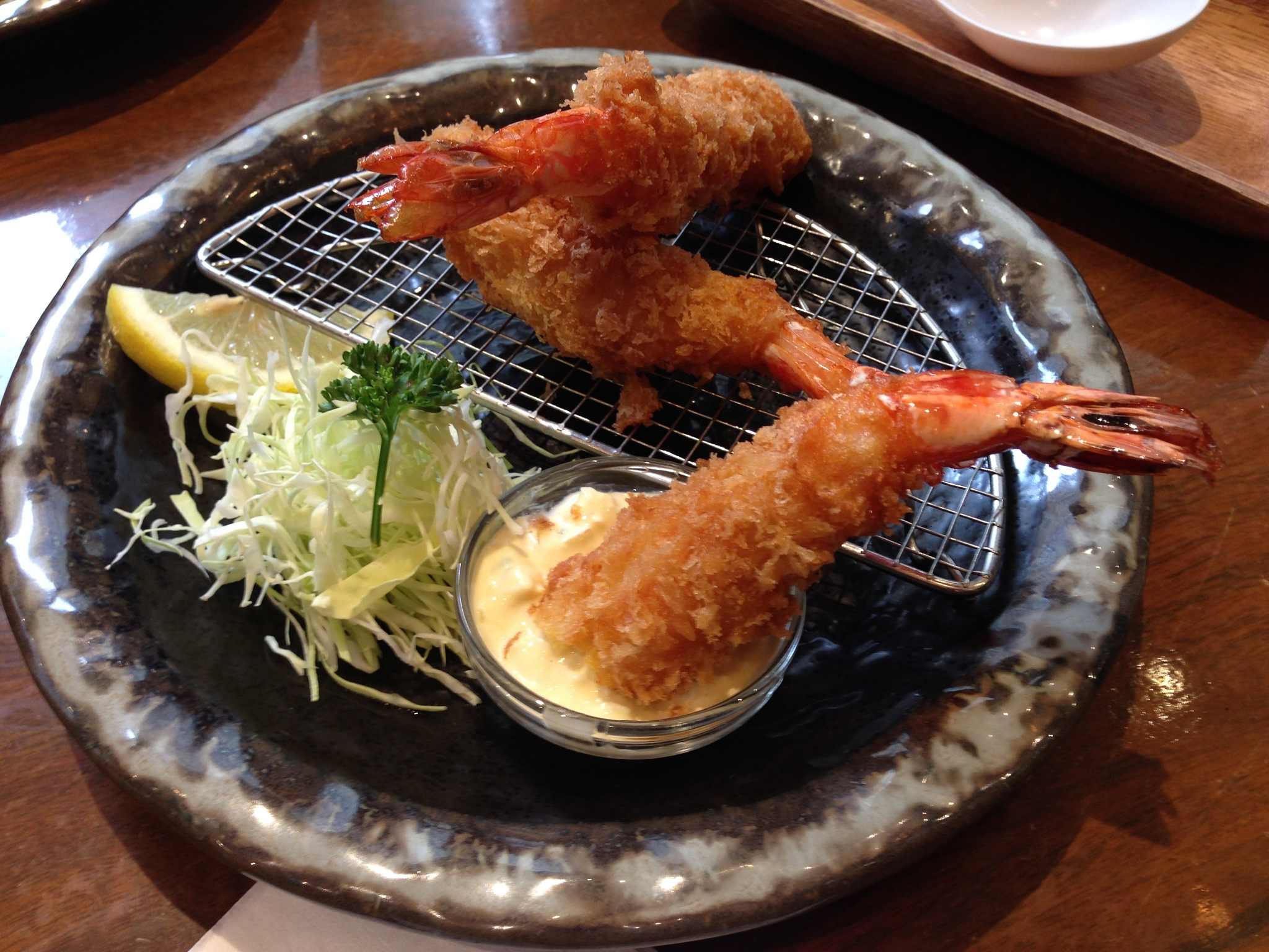 Photo in Food #colorful #food #japanese dish #breaded shrimp