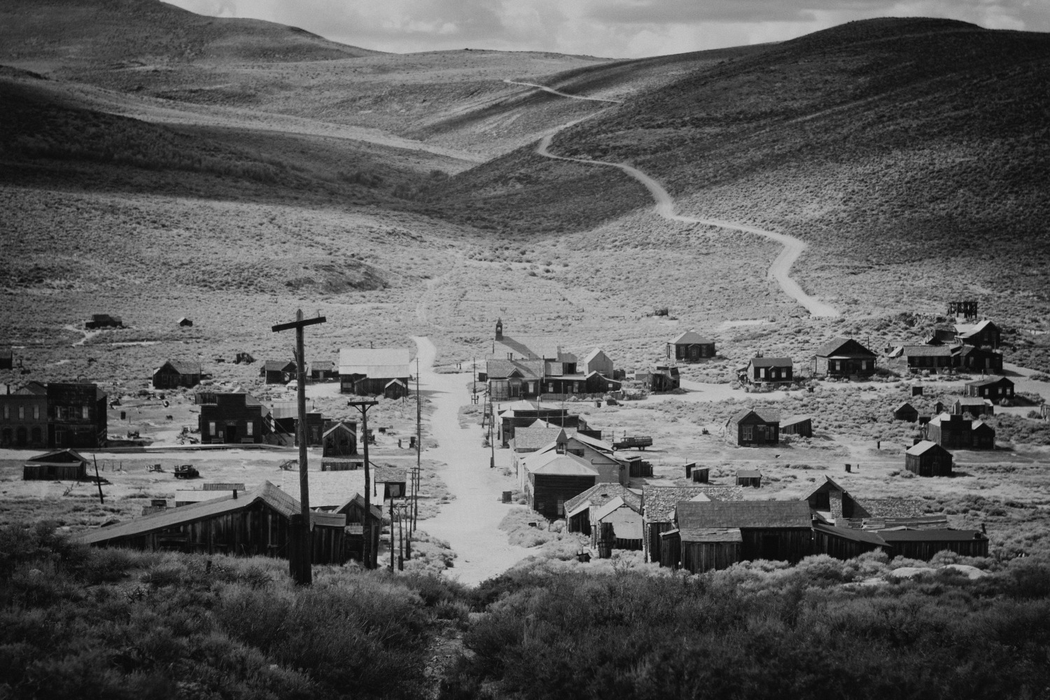 Bodie Ghost Town, California by Filip Molcan