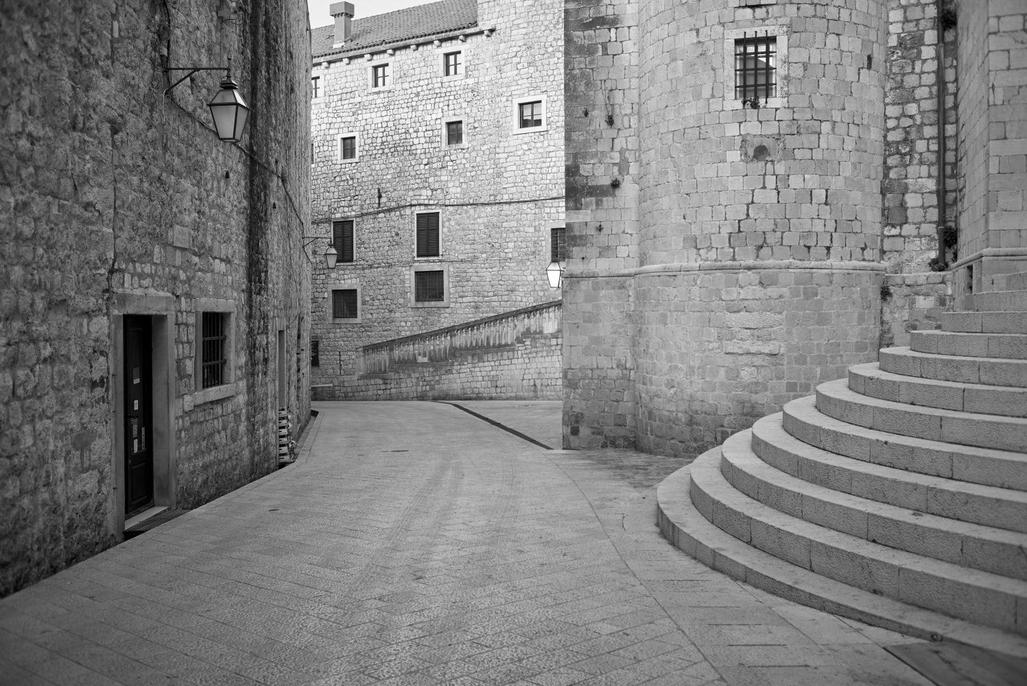 Streets of Dubrovnik by Filip Molcan