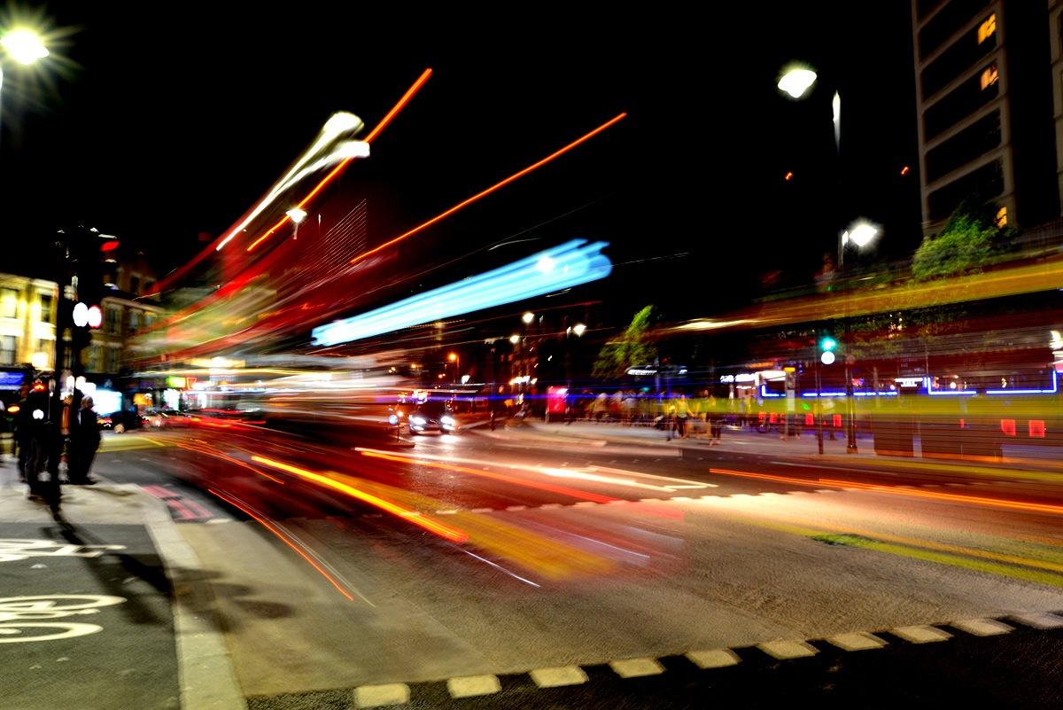 Red Bus by Keshab Sen