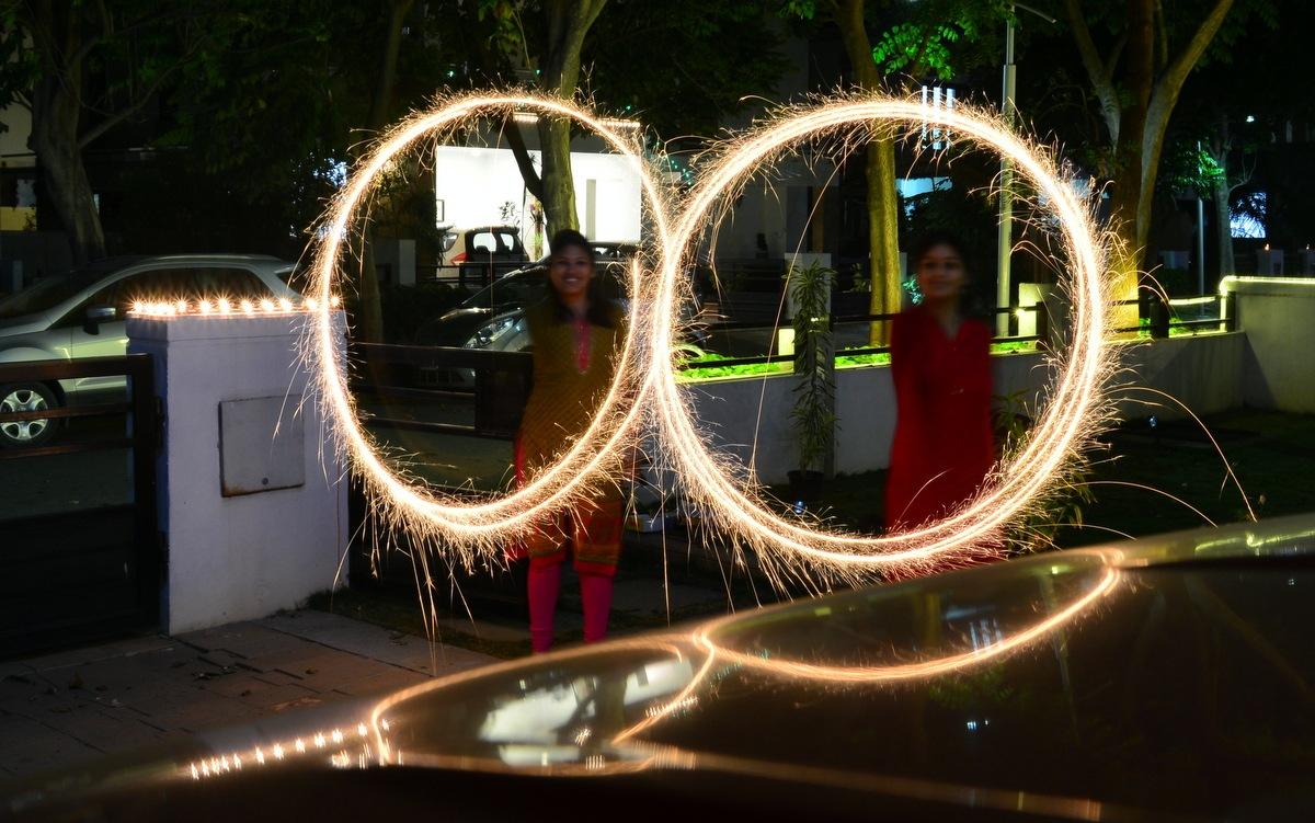Festival of Lights by Keshab Sen