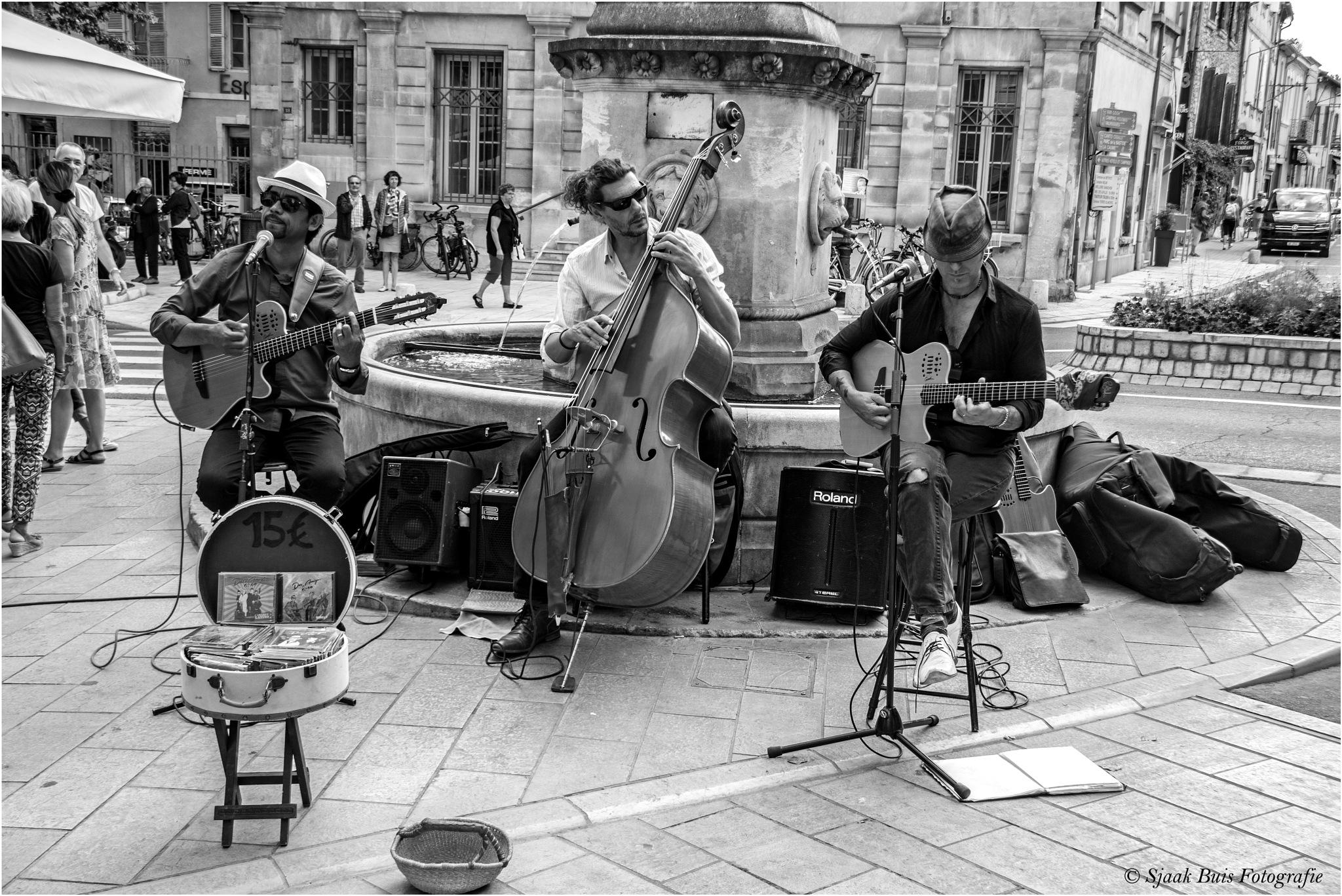 Street Music by Sjaak Buis