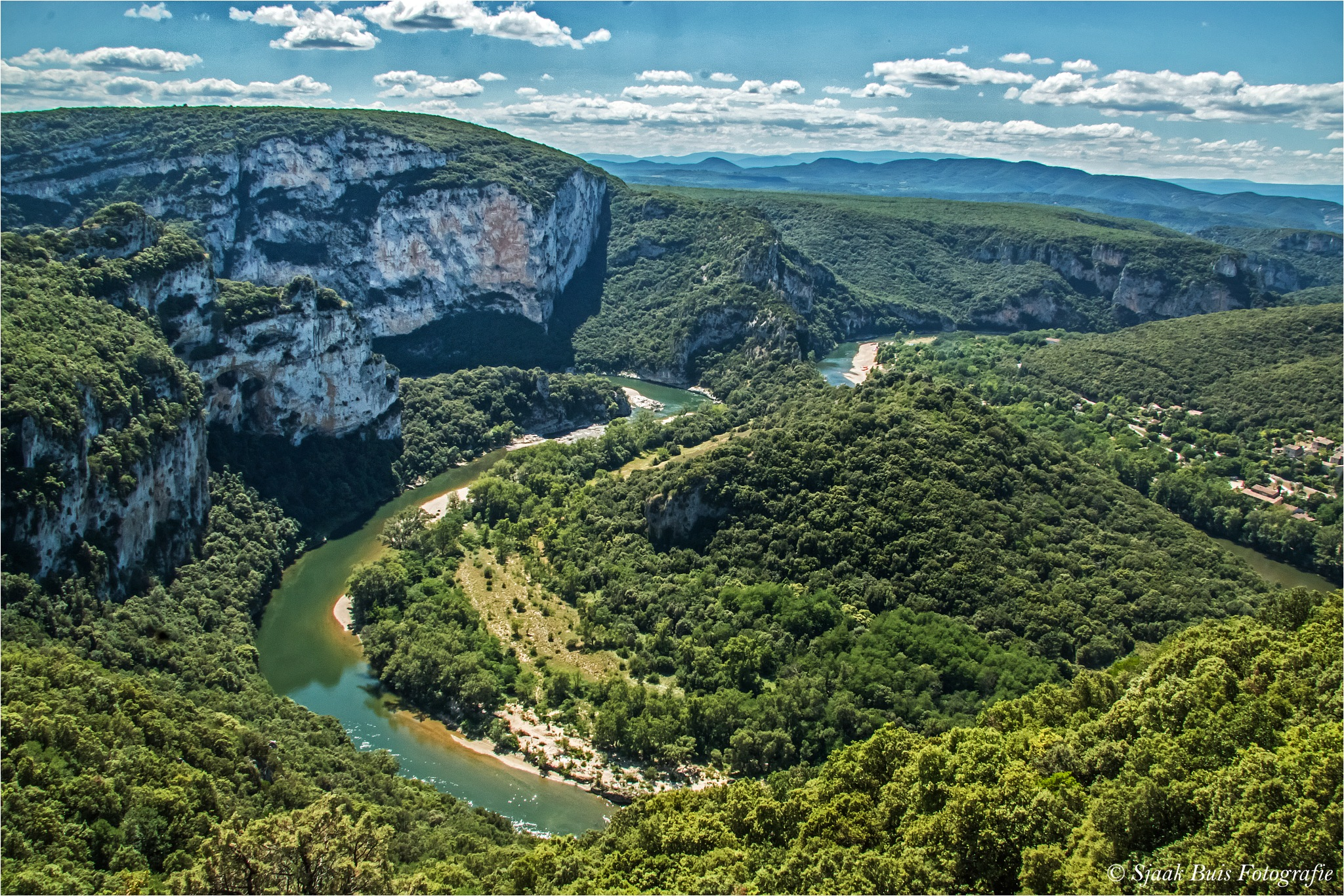 River the Ardeche  by Sjaak Buis