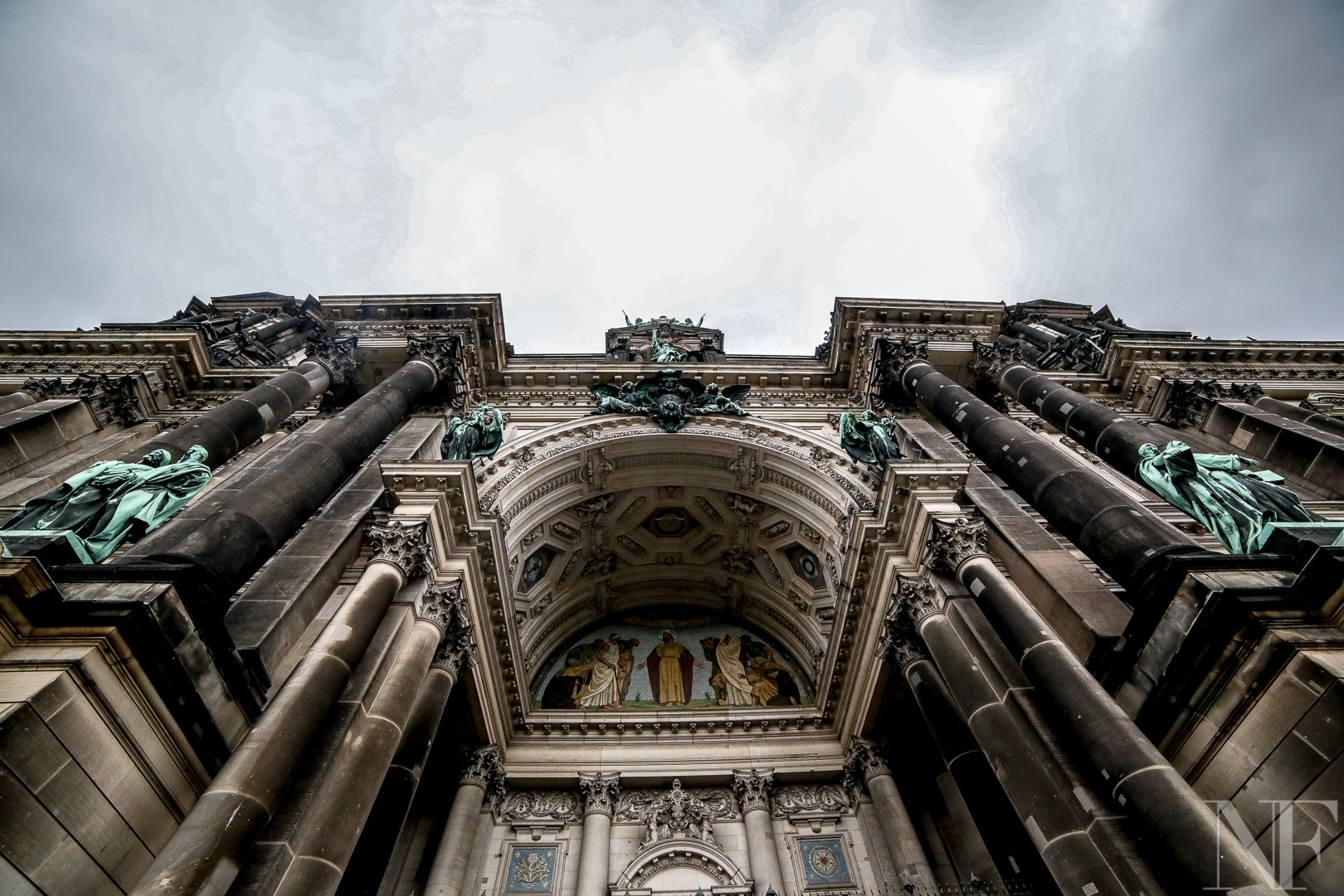 Gate to heaven. Berlin Cathedral by NoFilters