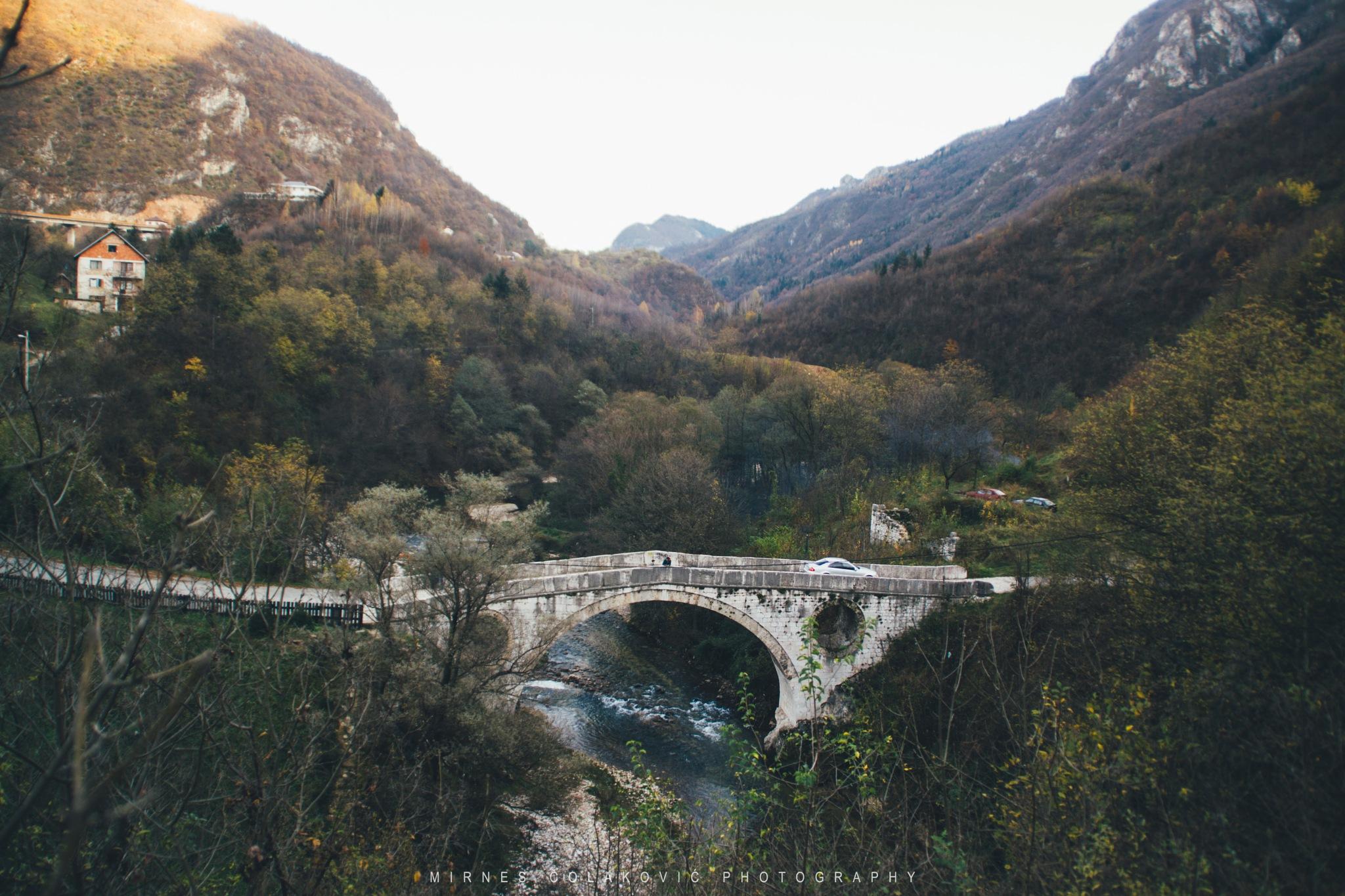 Bridge in nature by Mirnes Čolaković