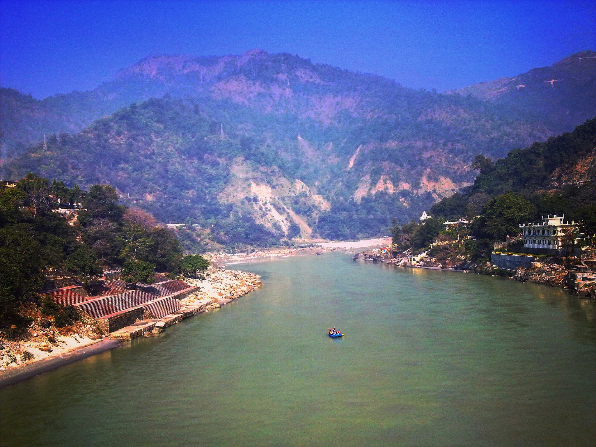 The Ganges river  by Mohammad Ahmad Khan