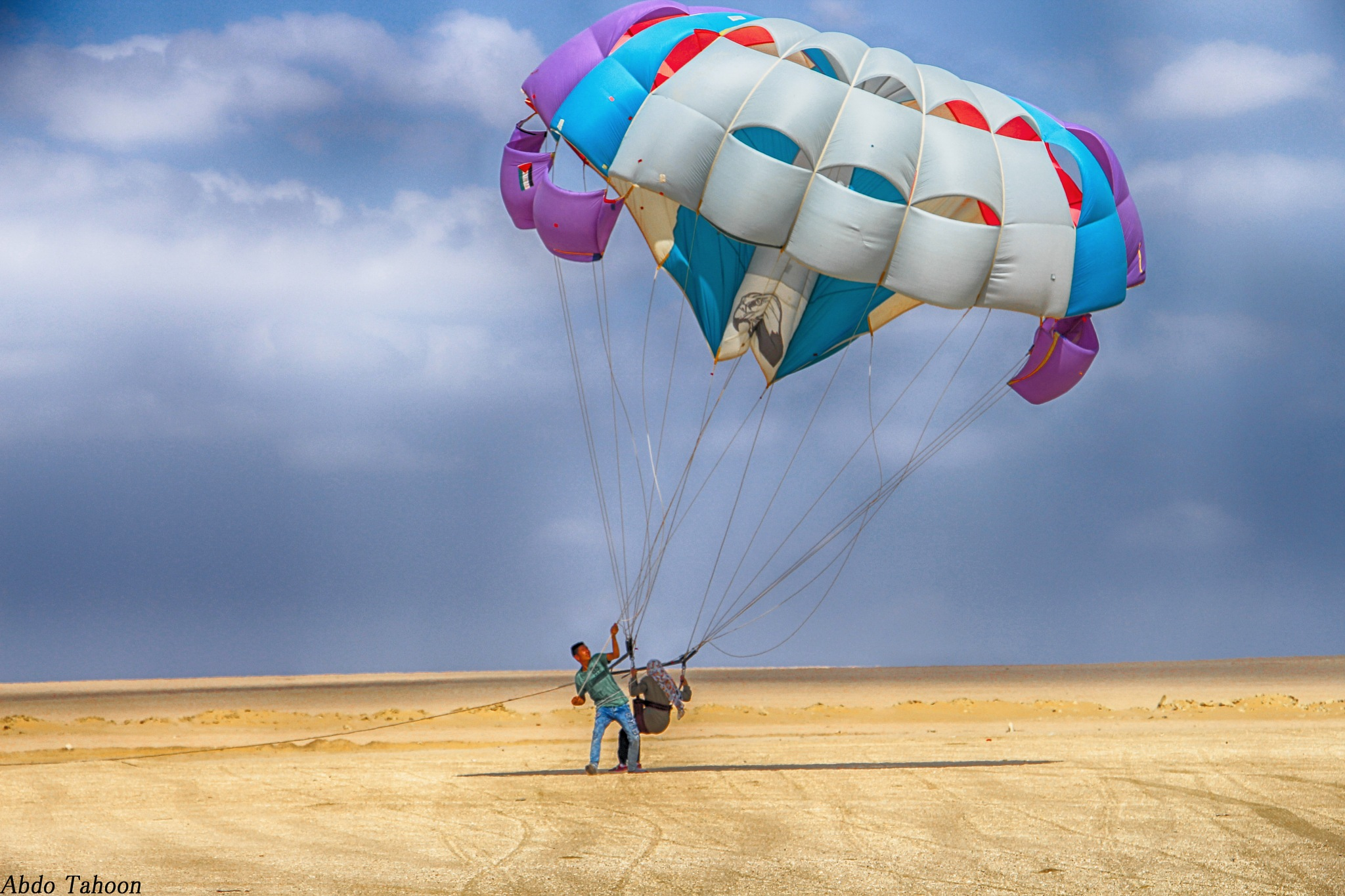 Parachute by Abdo Tahoon