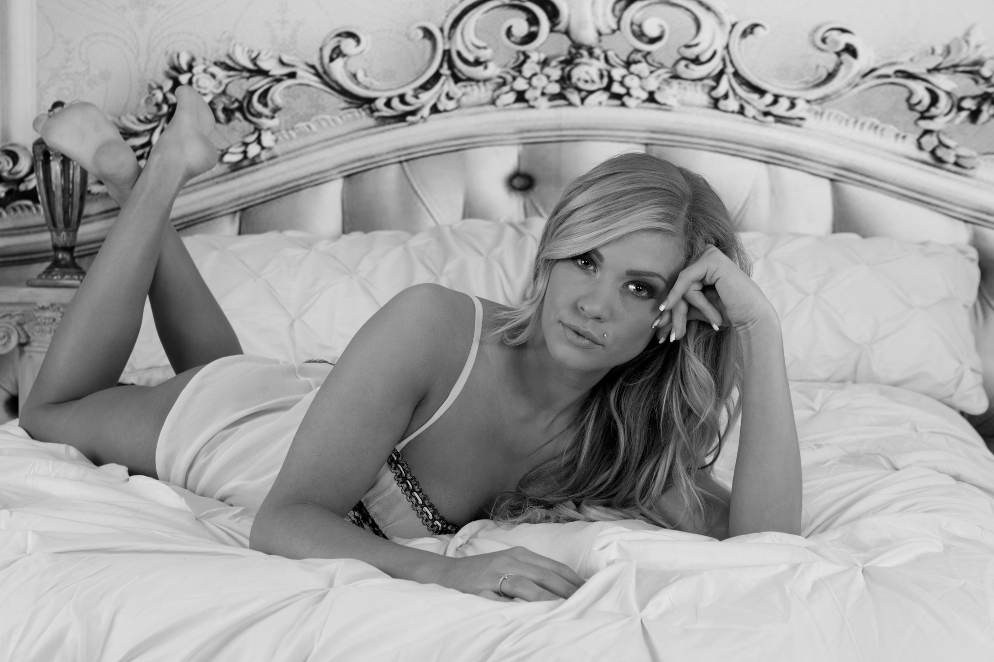 Photo in Black and White #2016 #dream wolf photography #events #models #natalie #psnwa #people #theam #year #boudoir #©scott brown