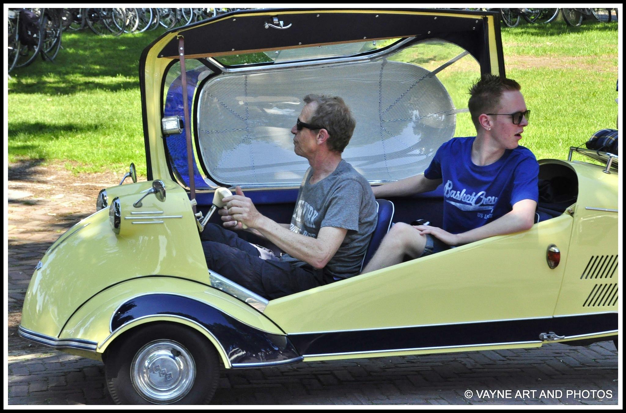 Special summer car by Jacob van der Veen