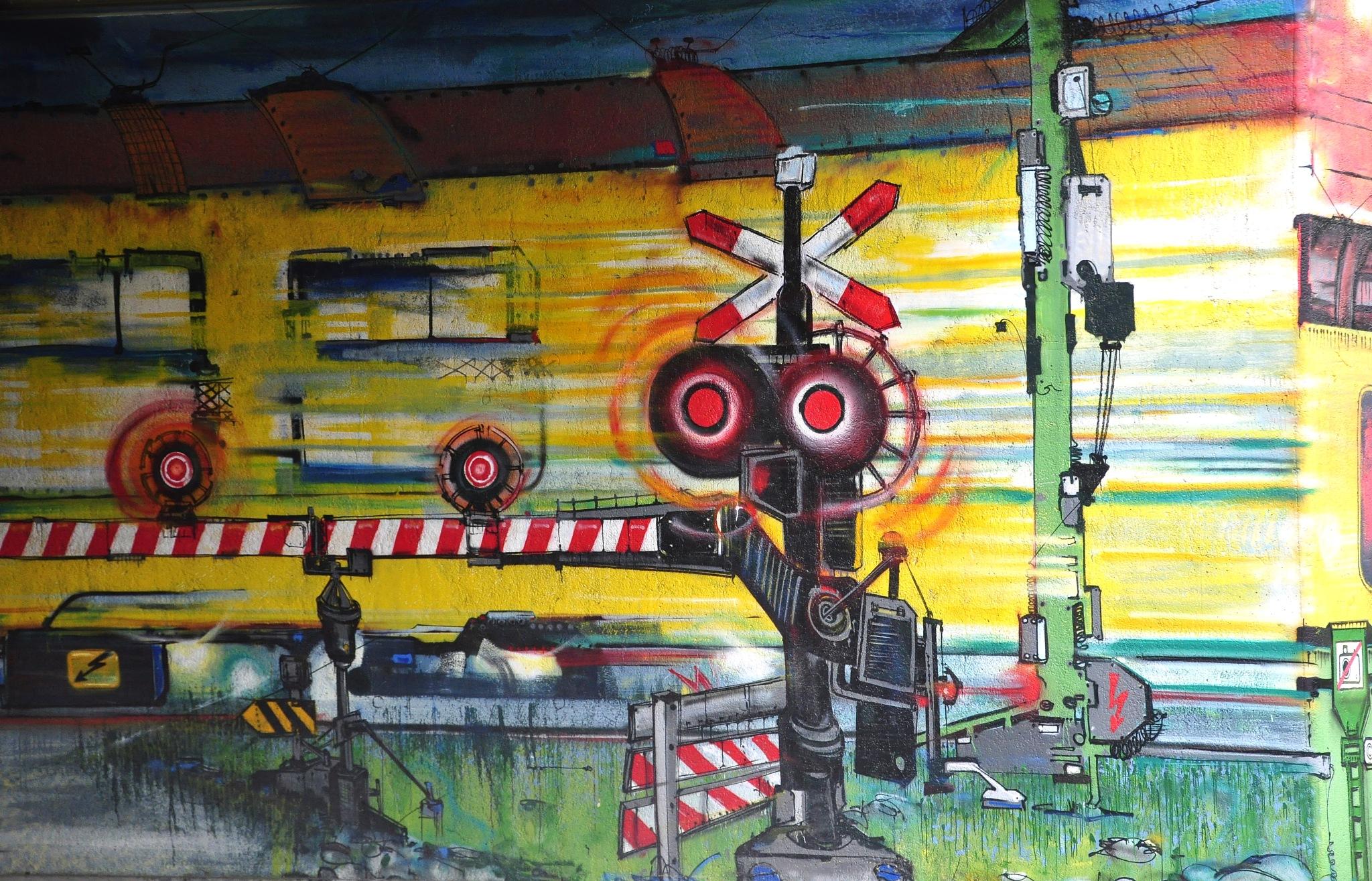 Graffity in Zwolle by Jacob van der Veen