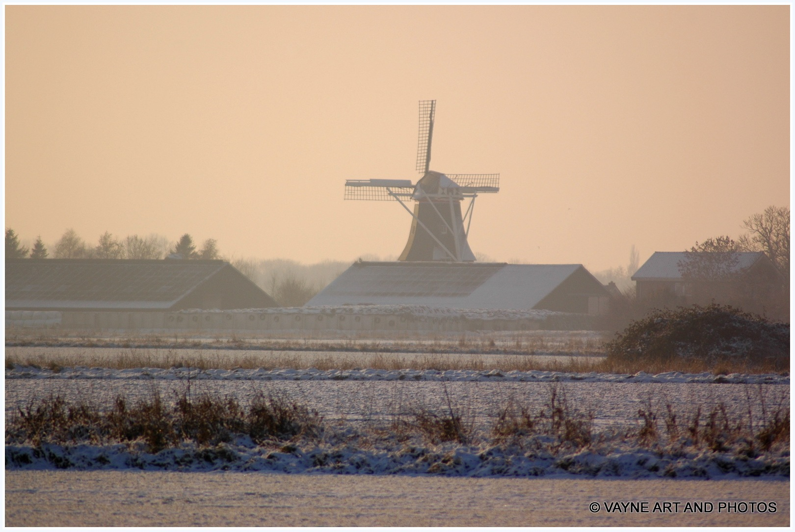 Wintermorning by Jacob van der Veen