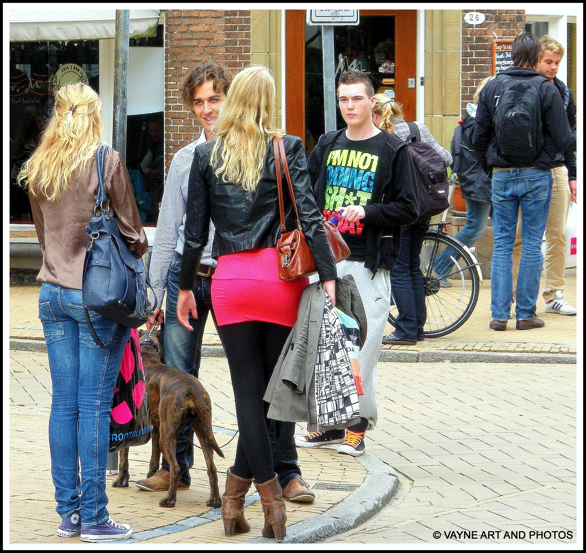 Crossed legs by Jacob van der Veen