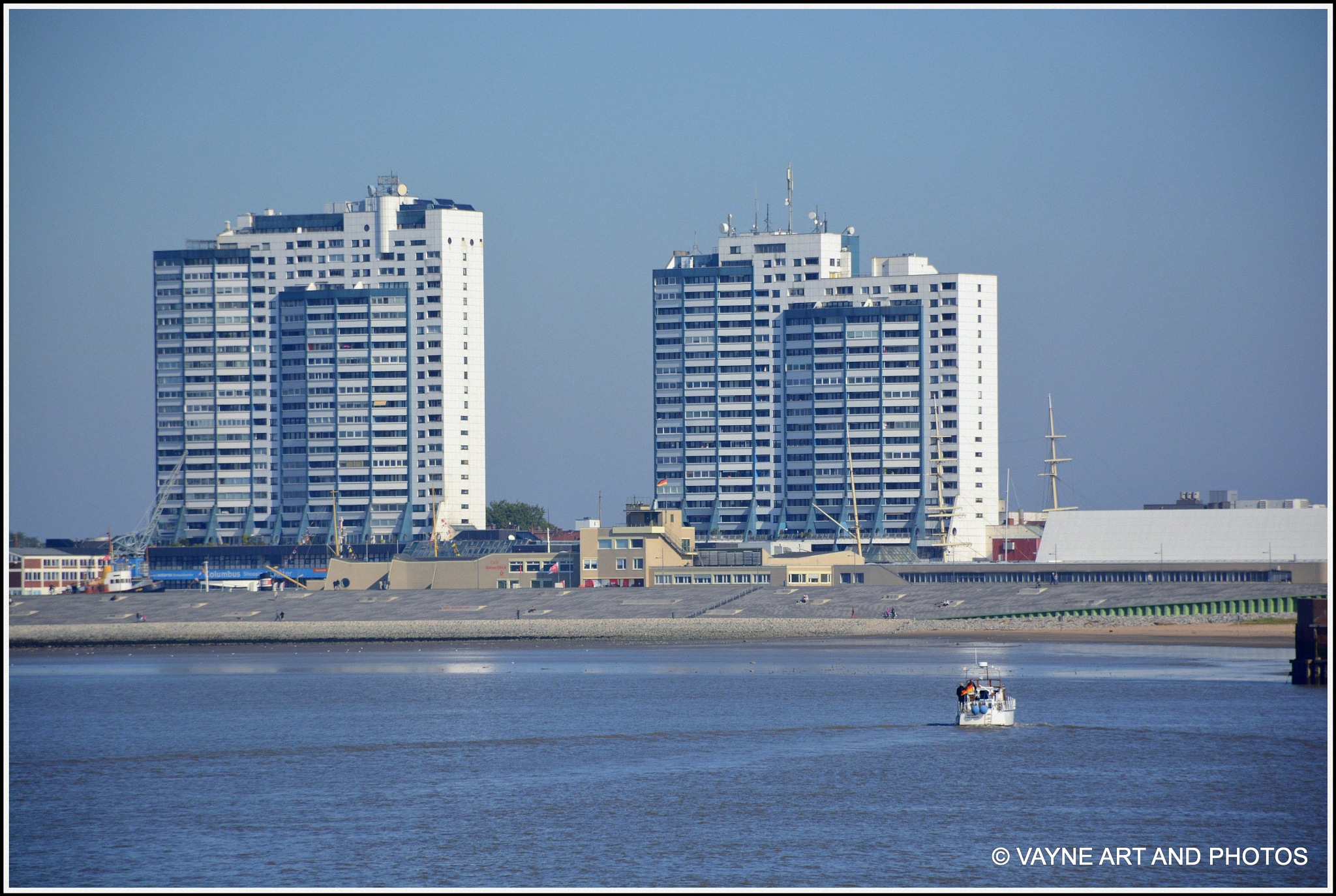 View on Bremerhafen by Jacob van der Veen