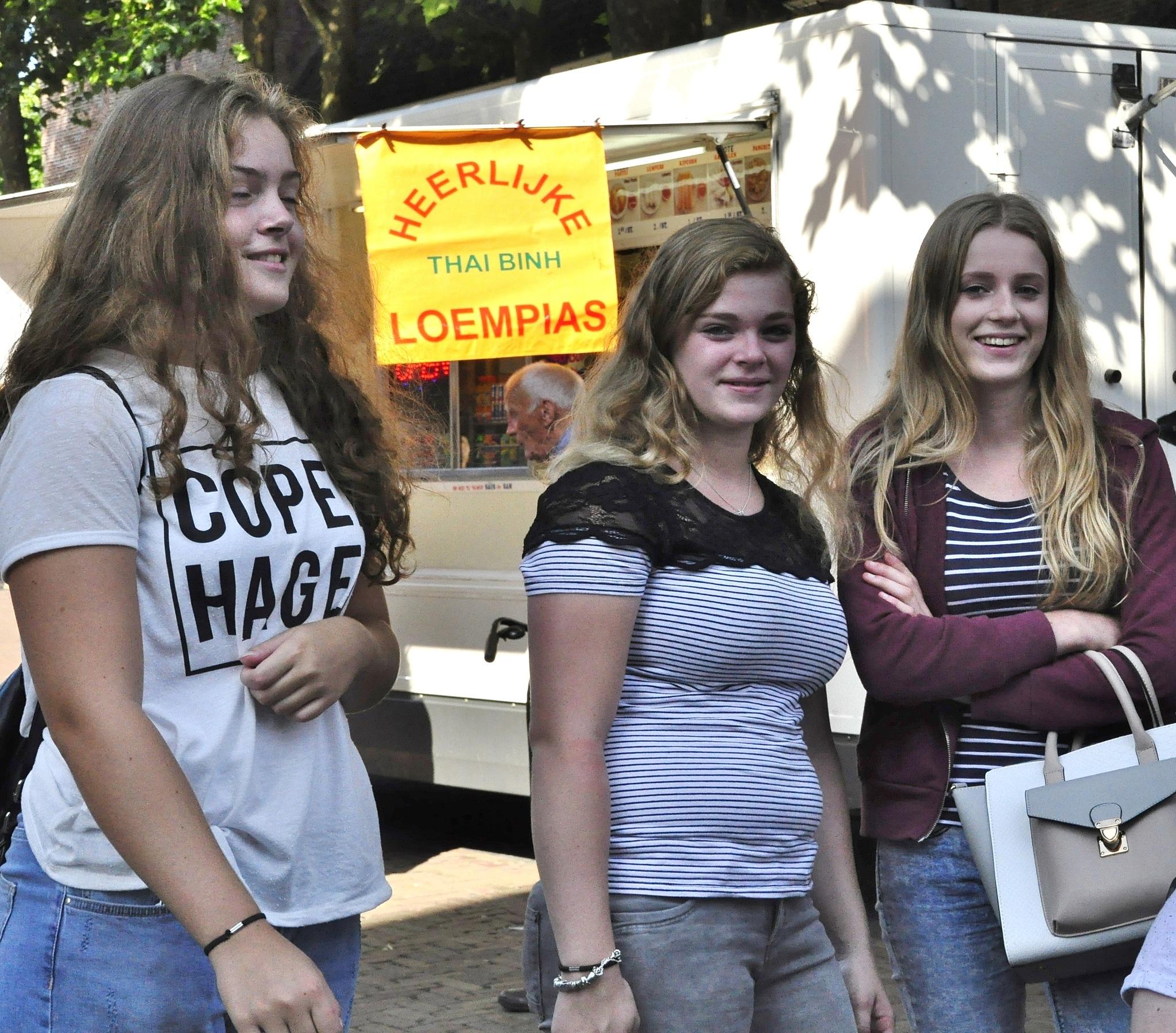 Models in town by Jacob van der Veen