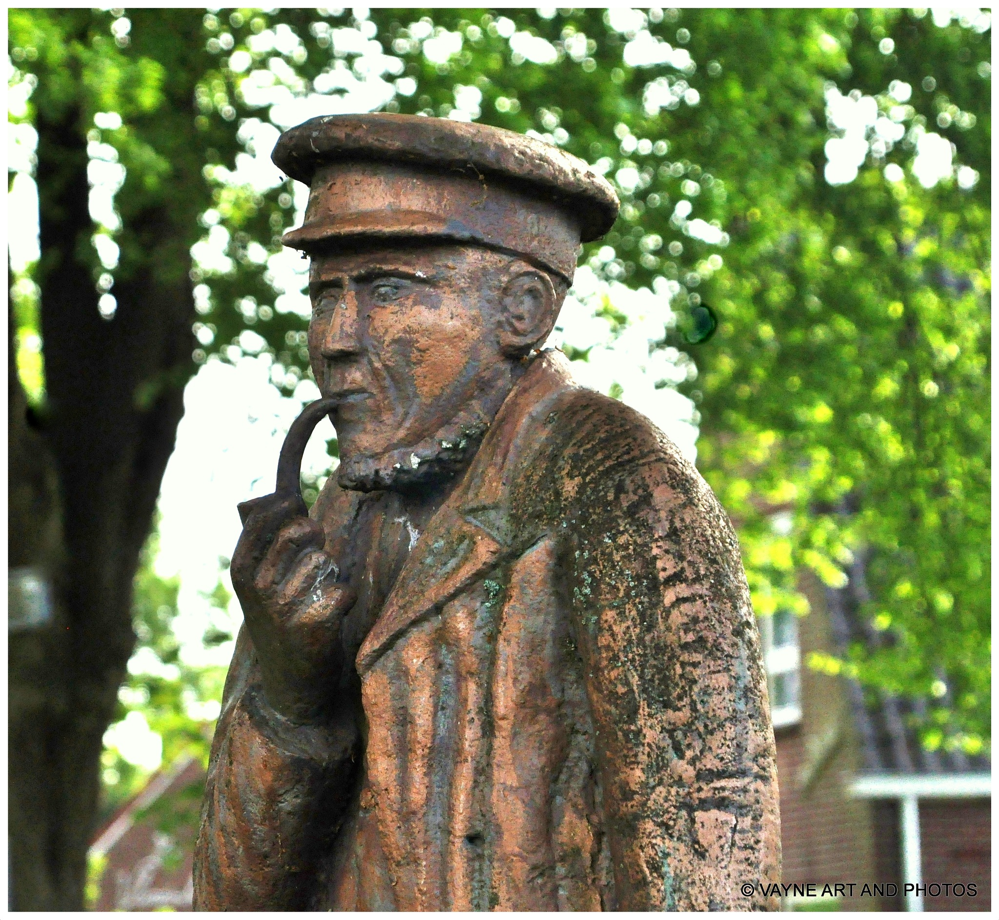 Statue by Jacob van der Veen