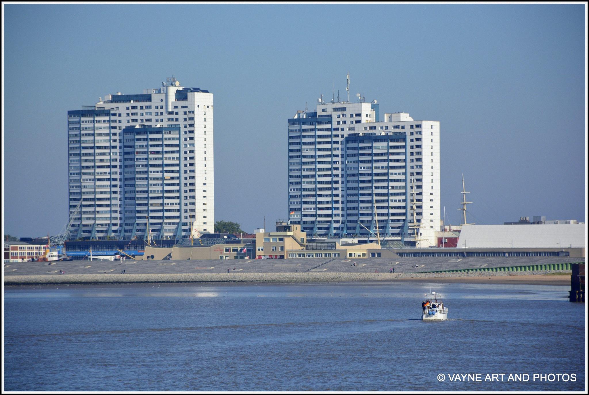 Skyline Bremerhaven by Jacob van der Veen