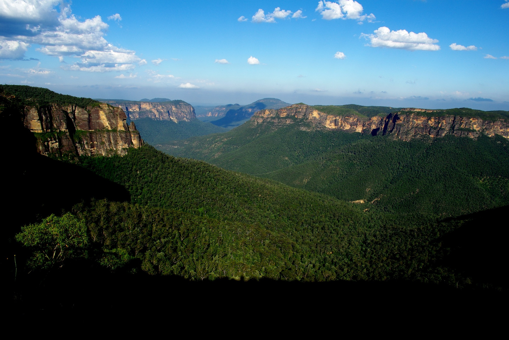 Blue Mountains views by tonycal