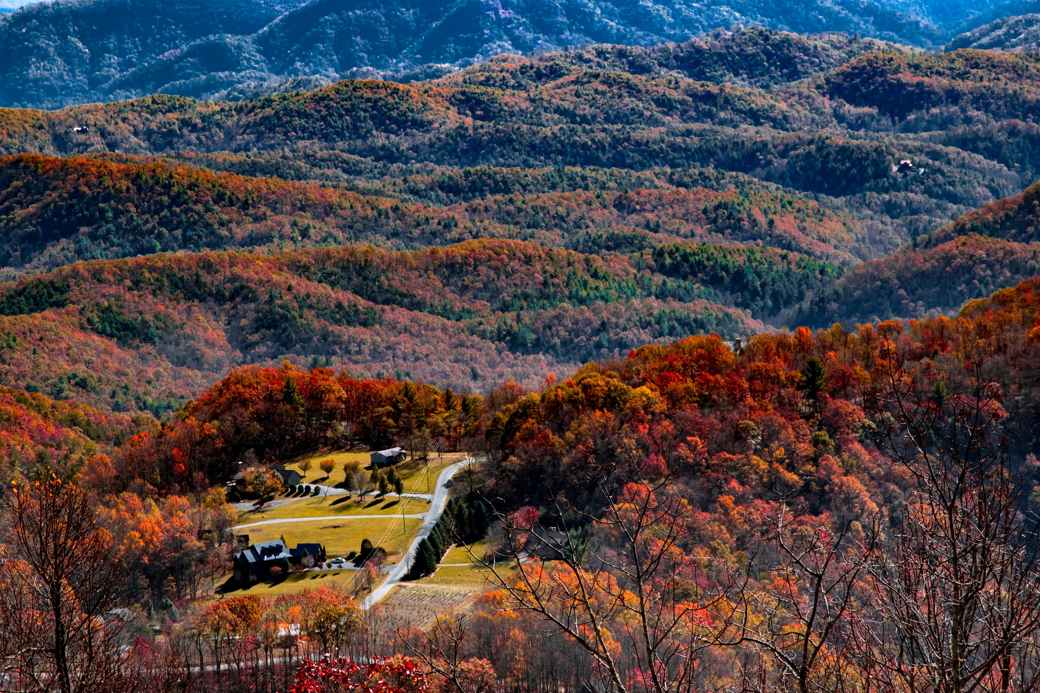 Blue Ridge Parkway by Fire Forged Photography