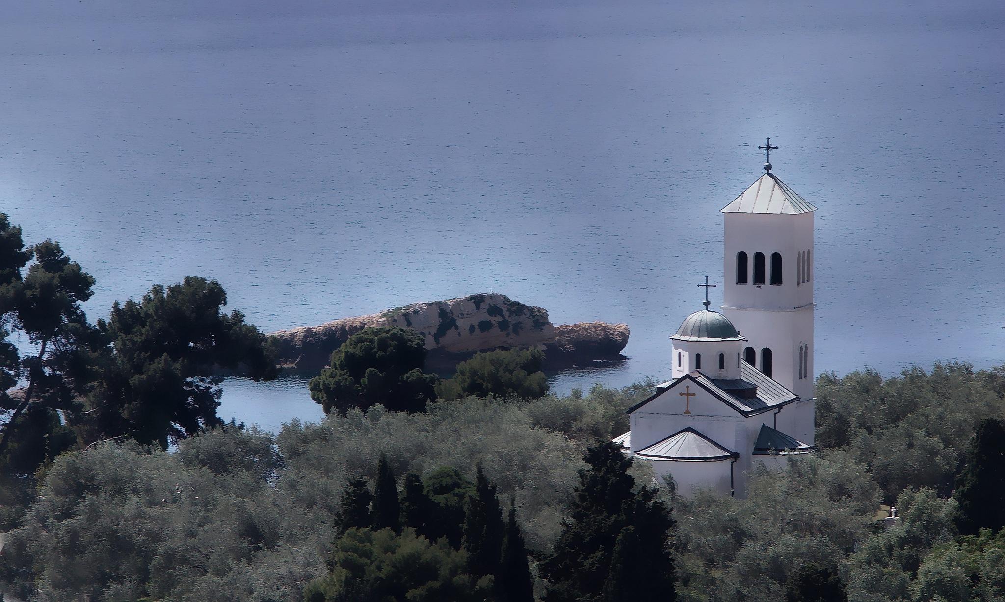 Orthodox church of St. Nicholas by Milos Jacimovic