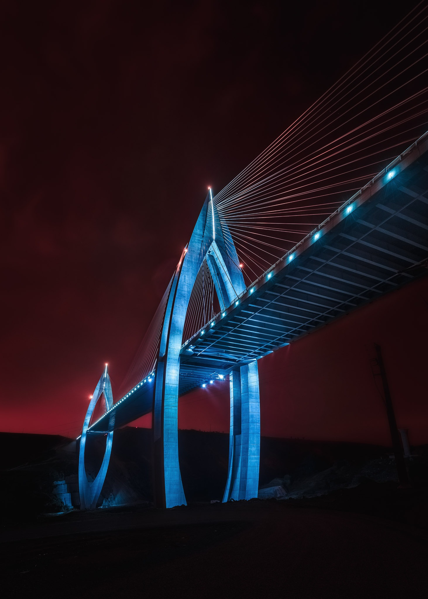 The Tall Bridge by Sadik Boujaida