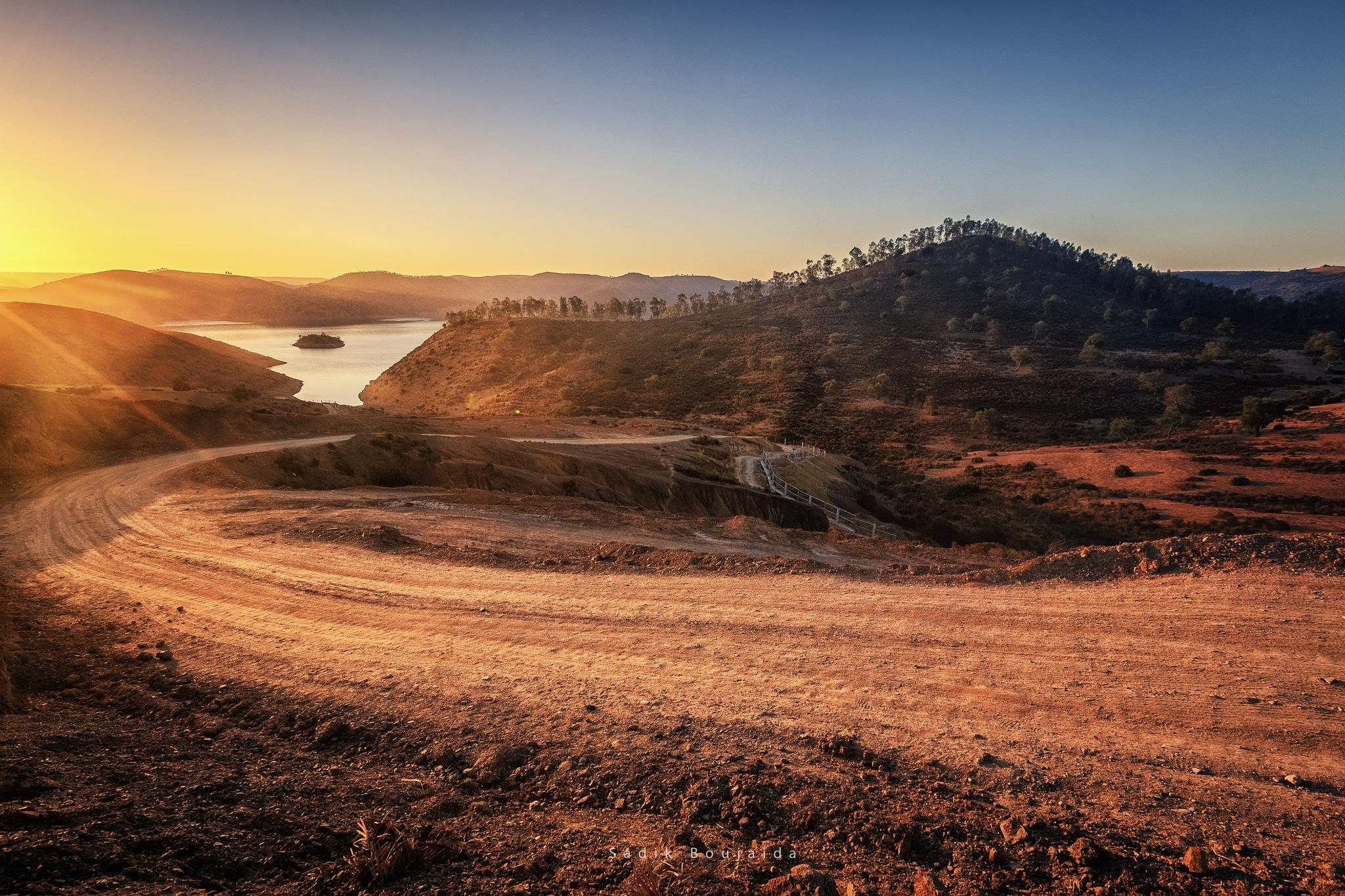 Country Road by Sadik Boujaida