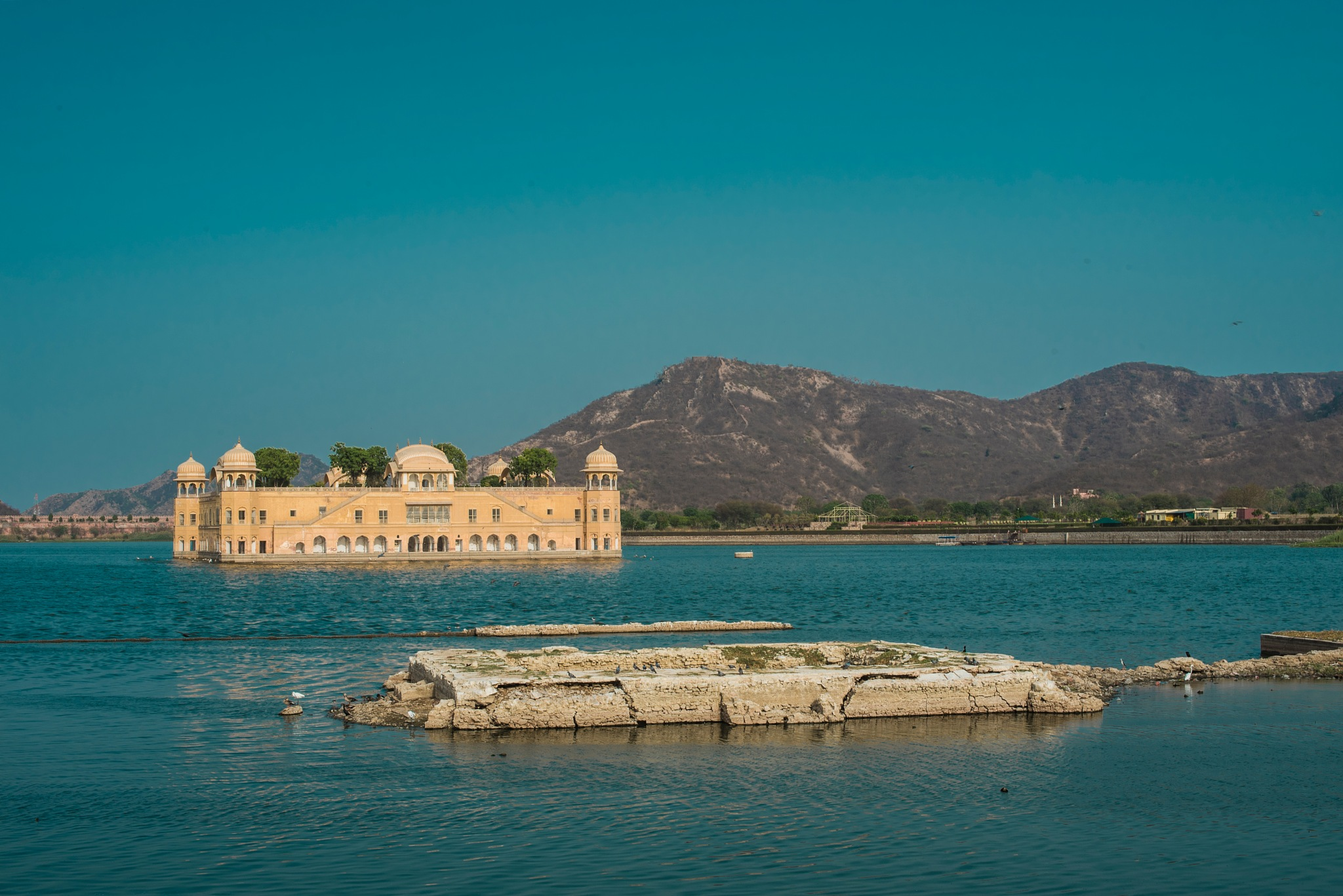 Jal Mahal- A Palace between water by Chandramoulieswar