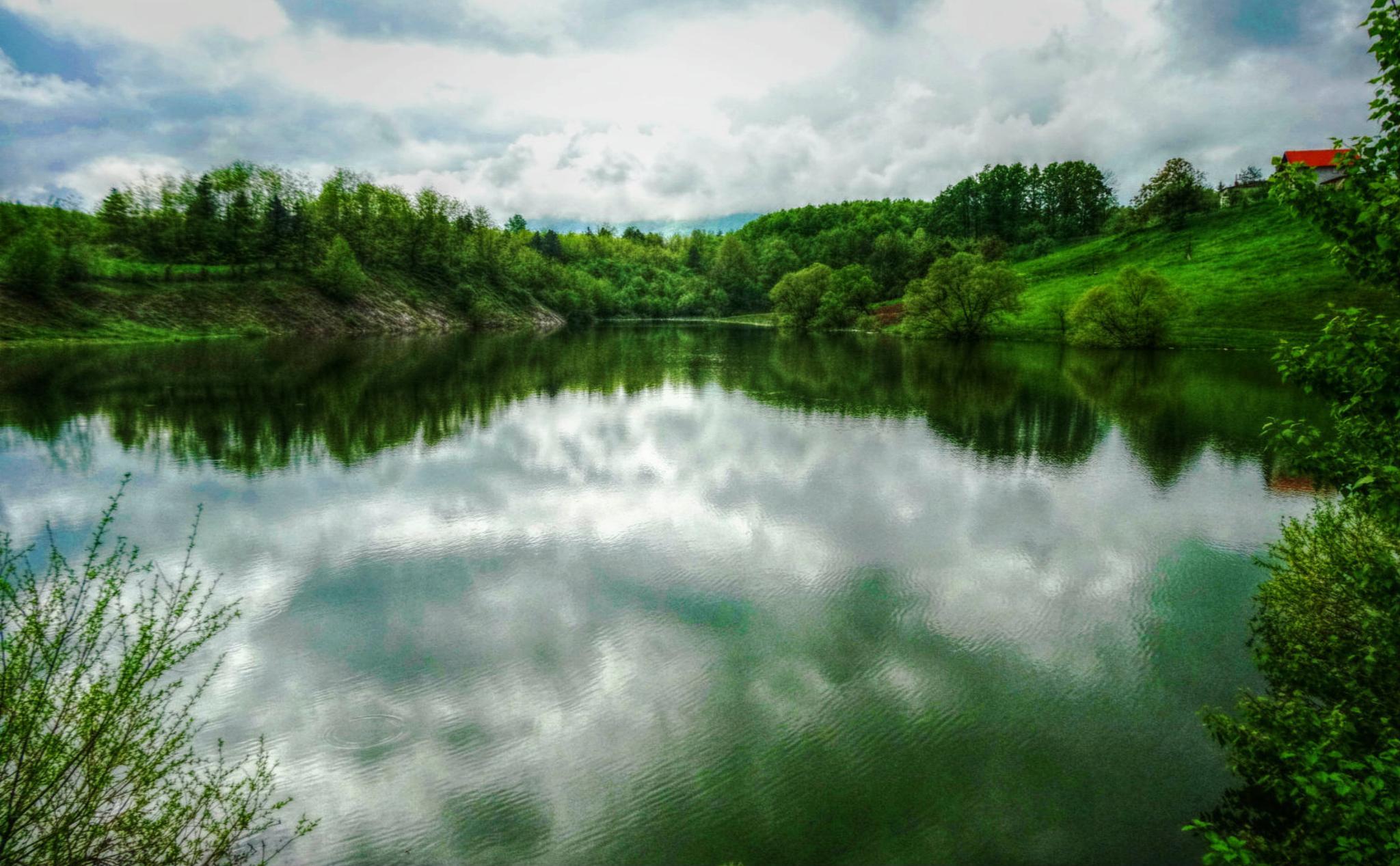natural mirror  by Mešić Emina