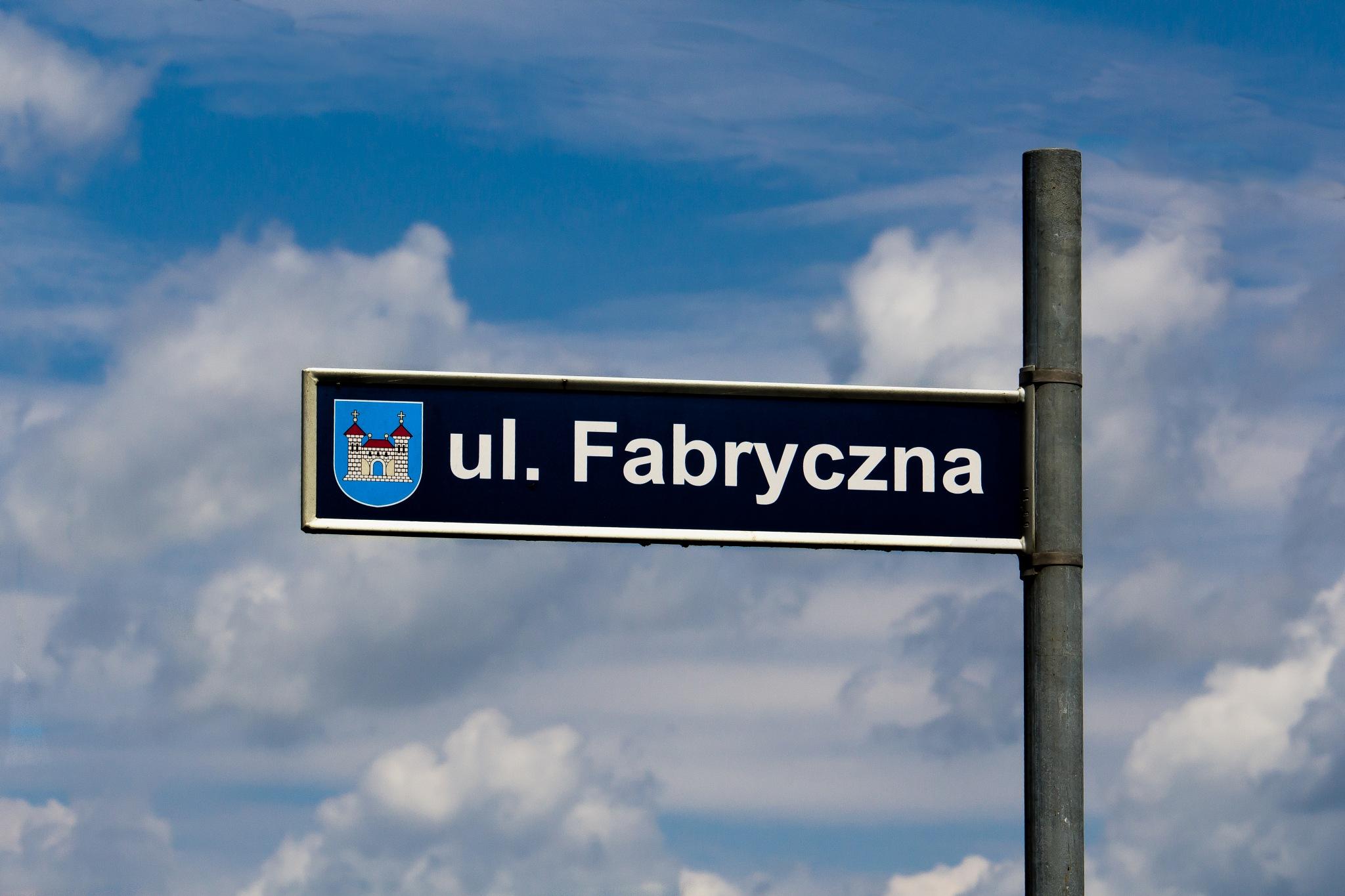 ul. Fabryczna by Andrzej Adamczyk