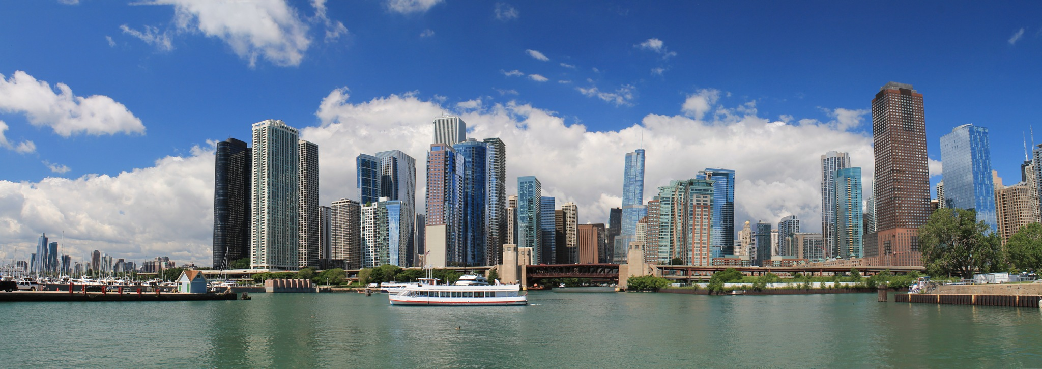 Chicago skyline by Paul Bownas