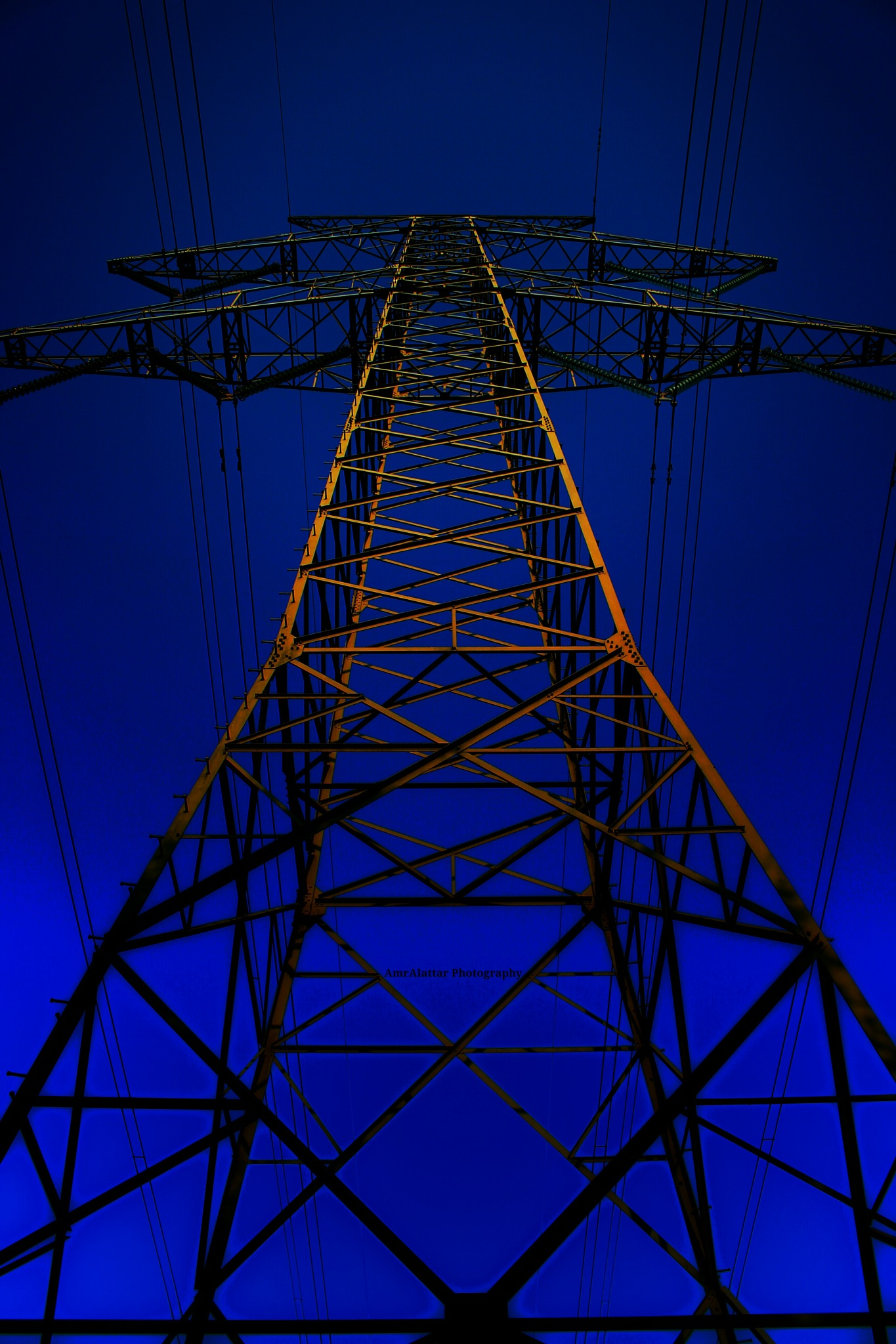 Tower Electricity by Amr Alattar