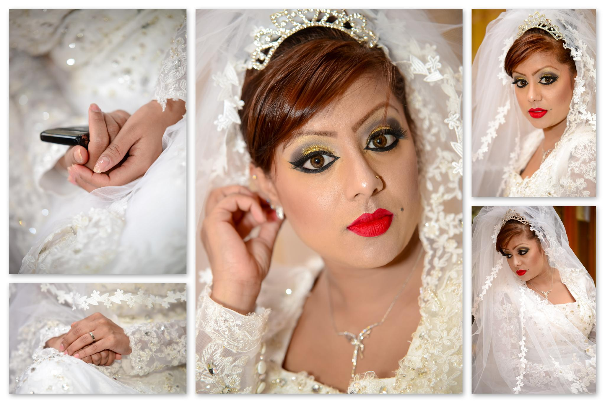 Snaps of a Muslim Bride- Muslim Wedding Shoot in Mauritius by Diksh Potter by Diksh Potter Mauritius Wedding Photographer