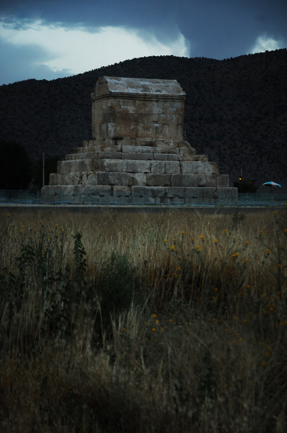Tomb of Cyrus king of Persia 02 by Javad Ahmadi