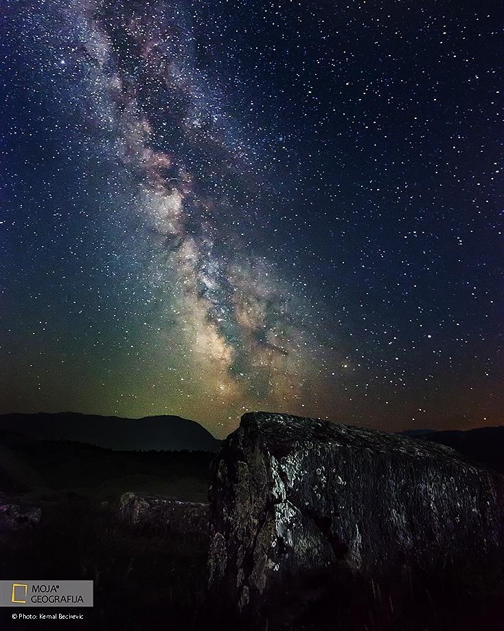 Milky Way, Precko polje by Kemal Bećirević