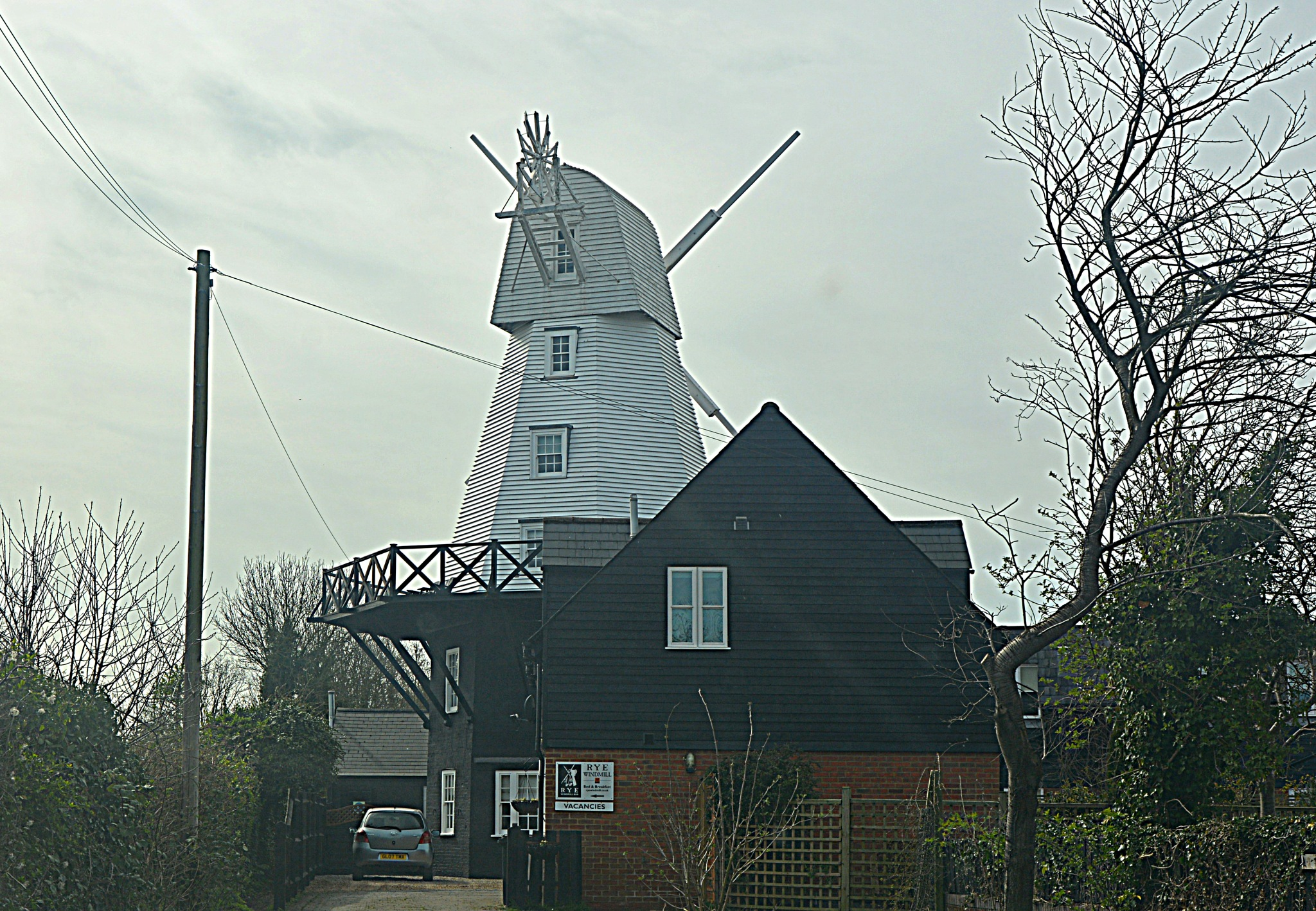 Rye Windmill by Philip Goldsmith