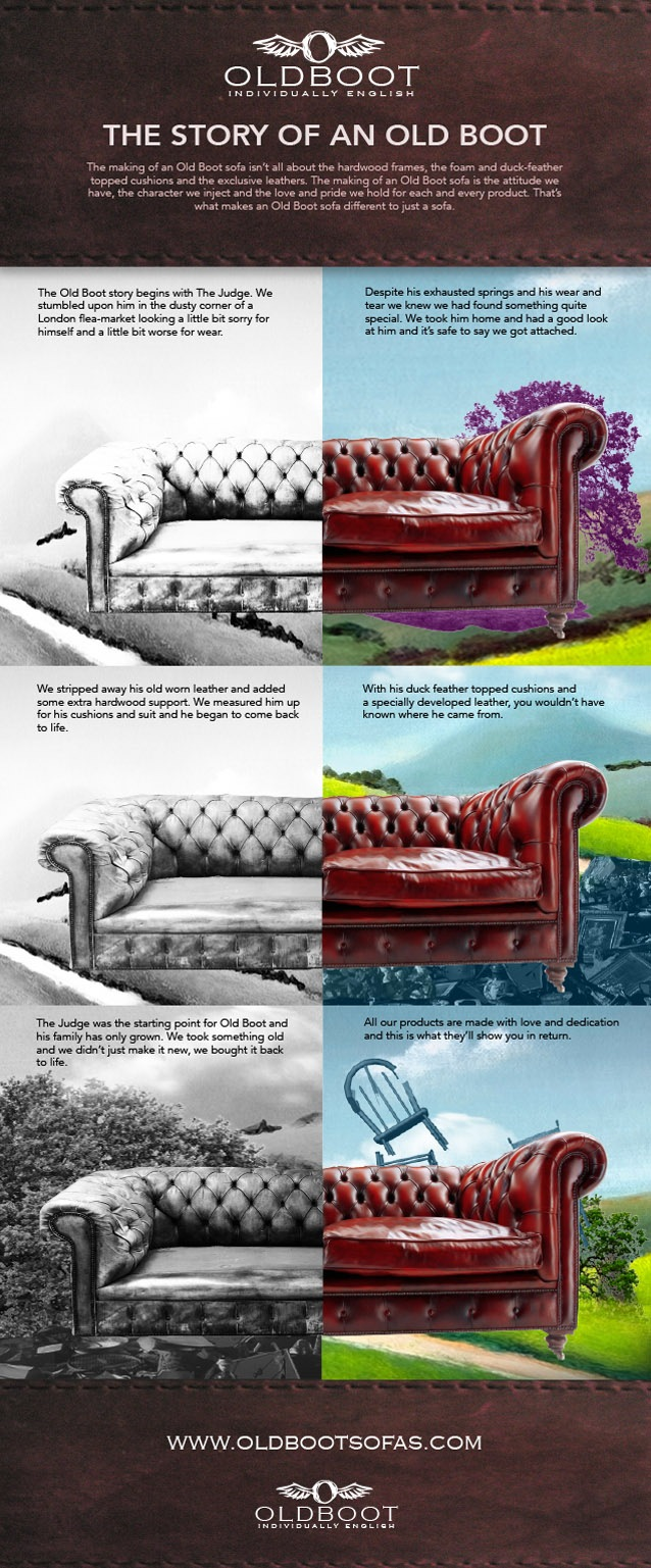 The Story Of An Old Boot Sofa by oldbootsofas