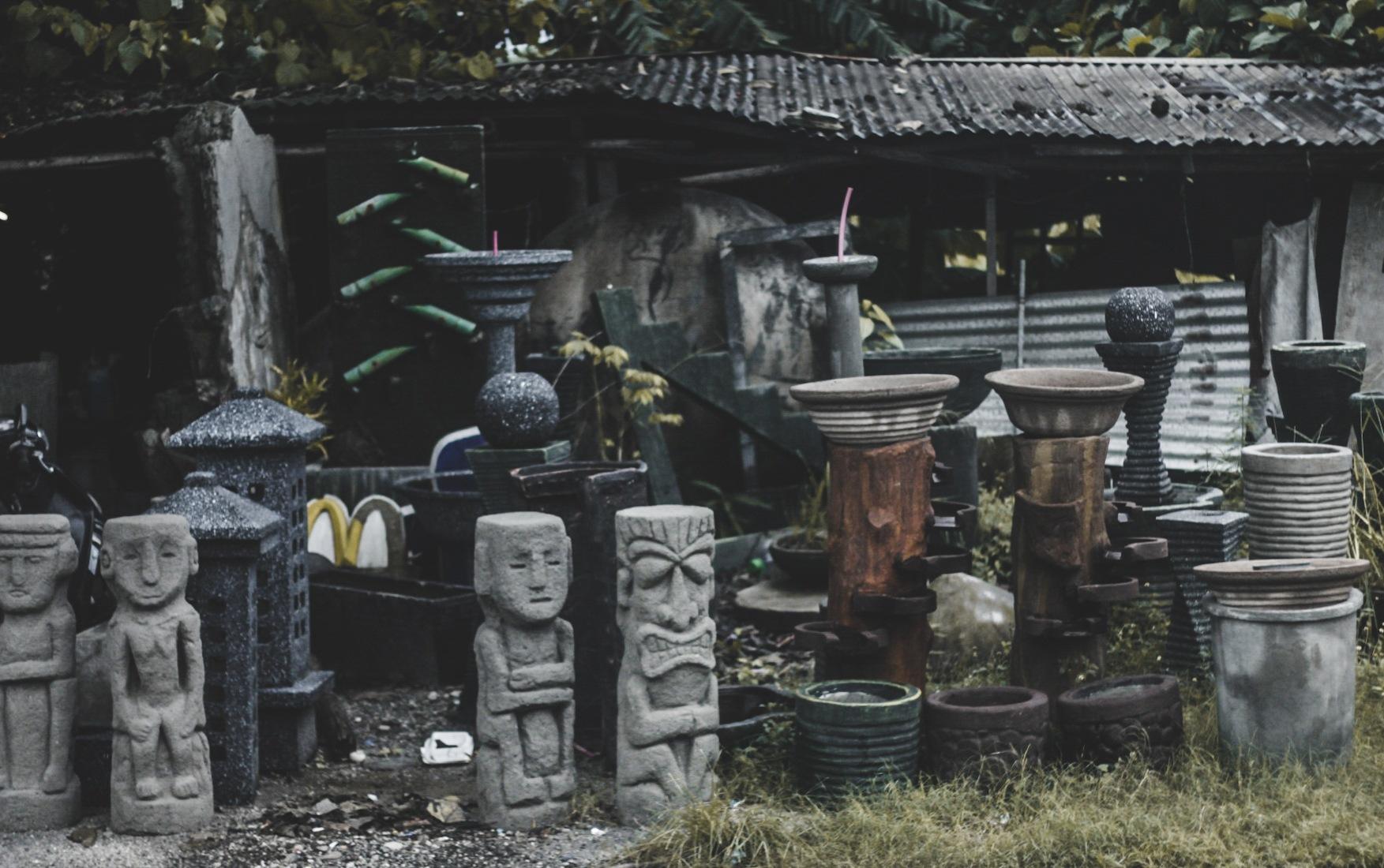 garden statues by Nanteesparts