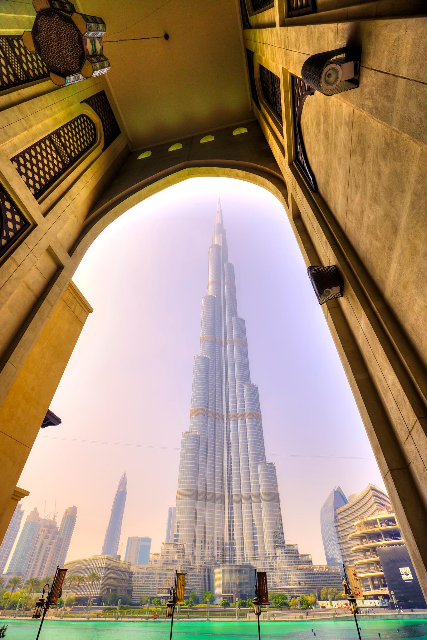 Photo in Architecture #landmark #cityscape #burj khalifa #dubai #uae #canon