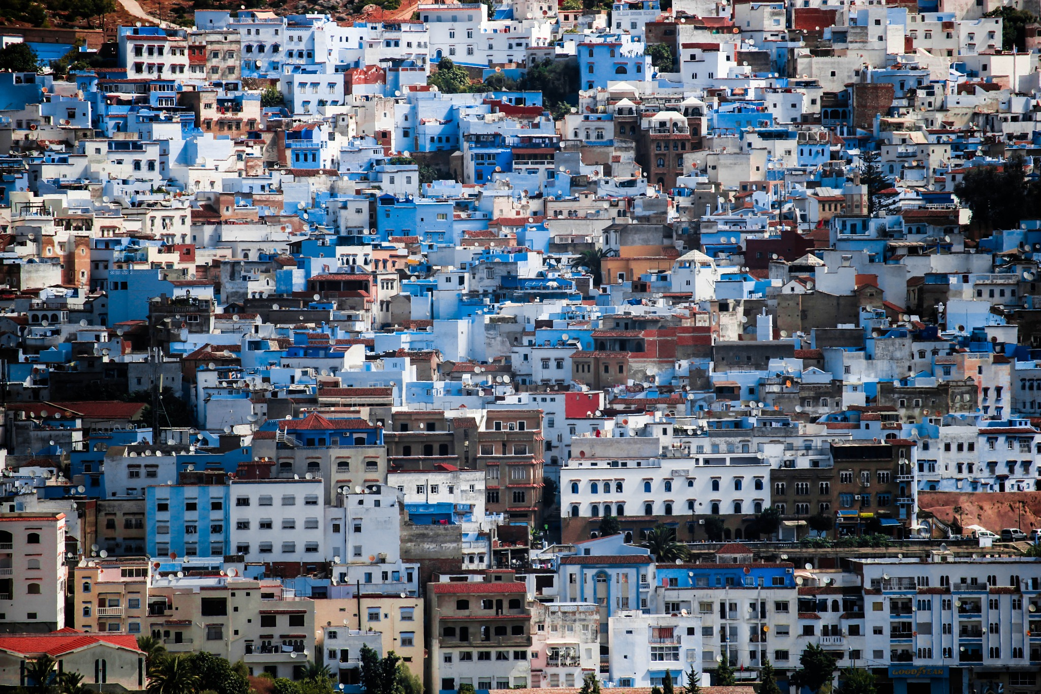 The Blue City Chefchaouen by Mohamed Zemmouri