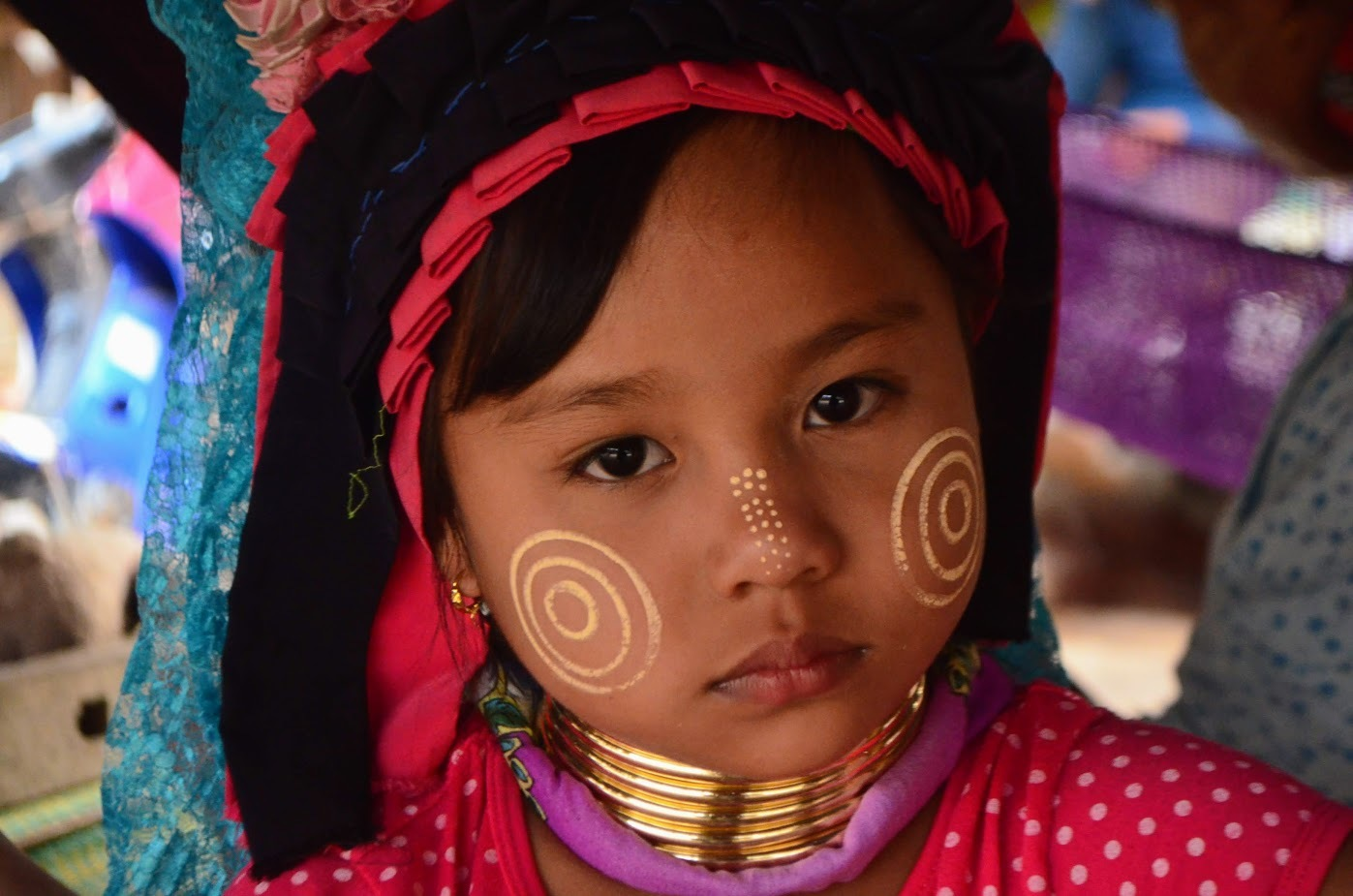 Child of the Karen tribe / Thailand by Sonja