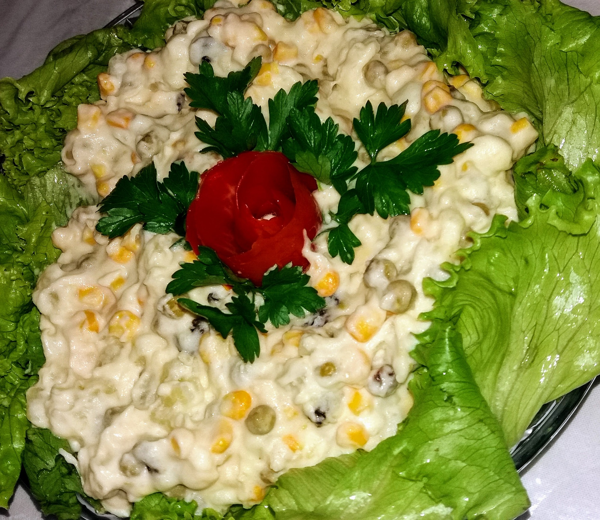 Mayonnaise salad by Sonja