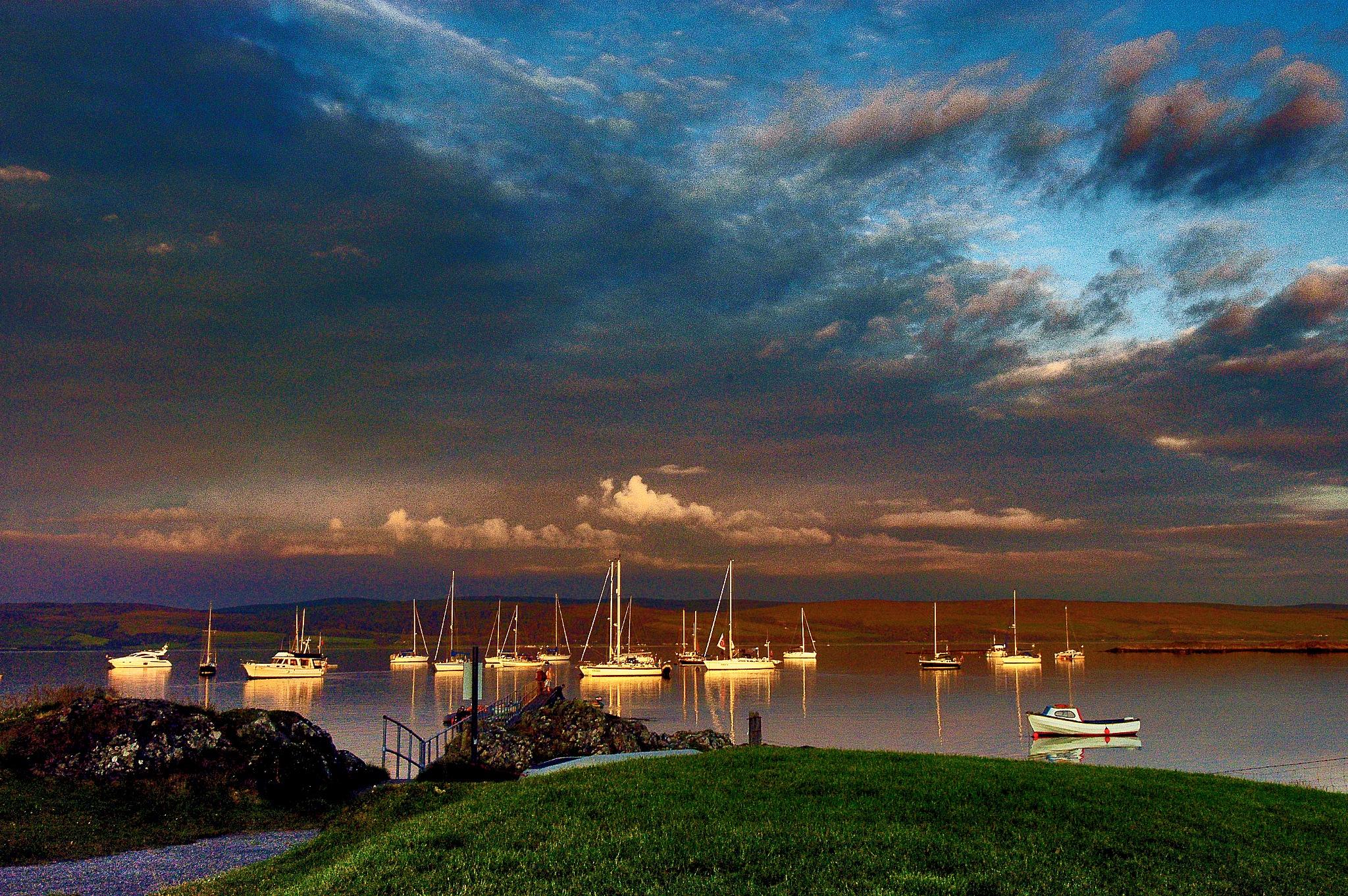 Sunset Glow by PeterMChambers