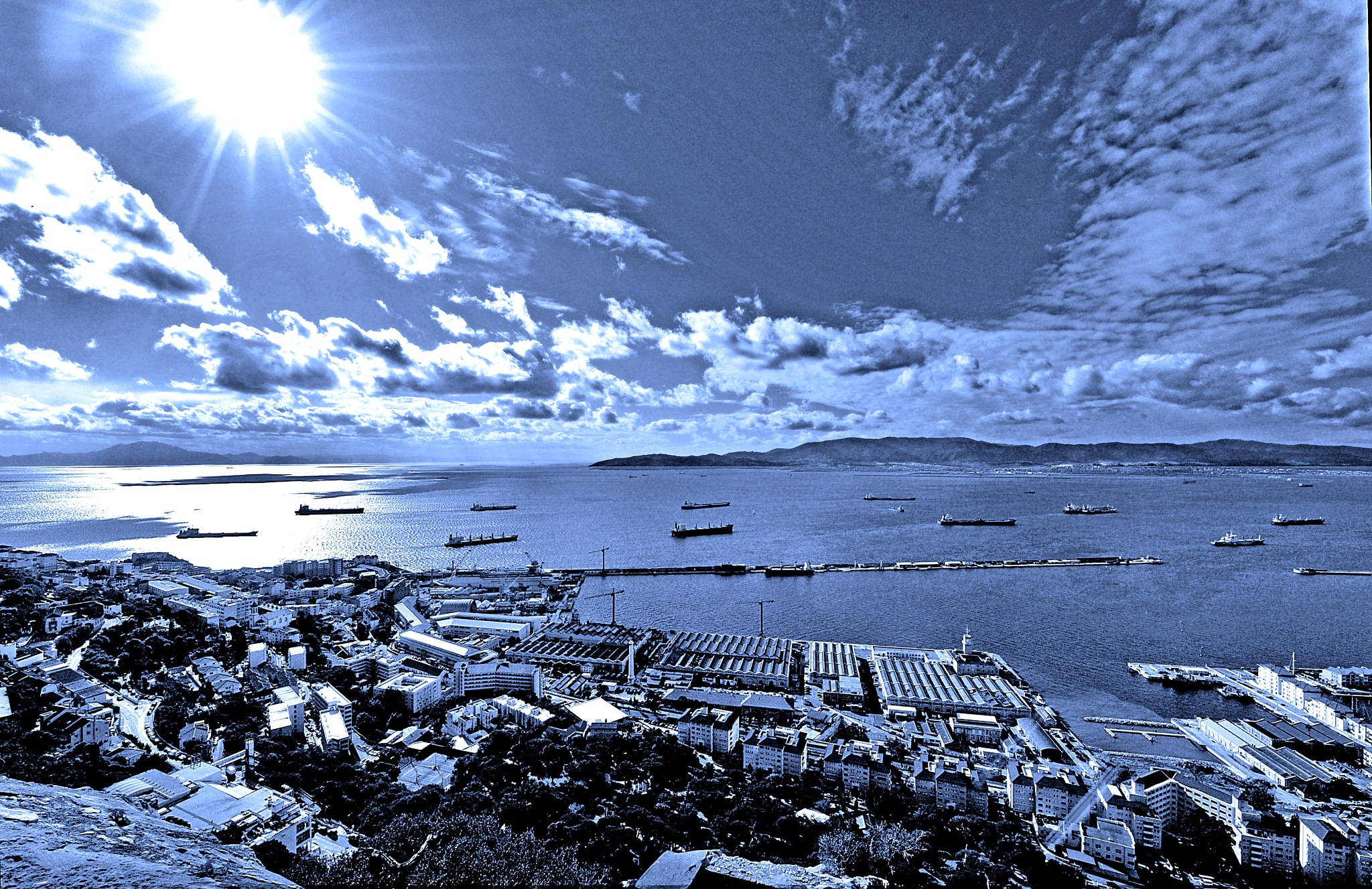 Straits of Gib by PeterMChambers