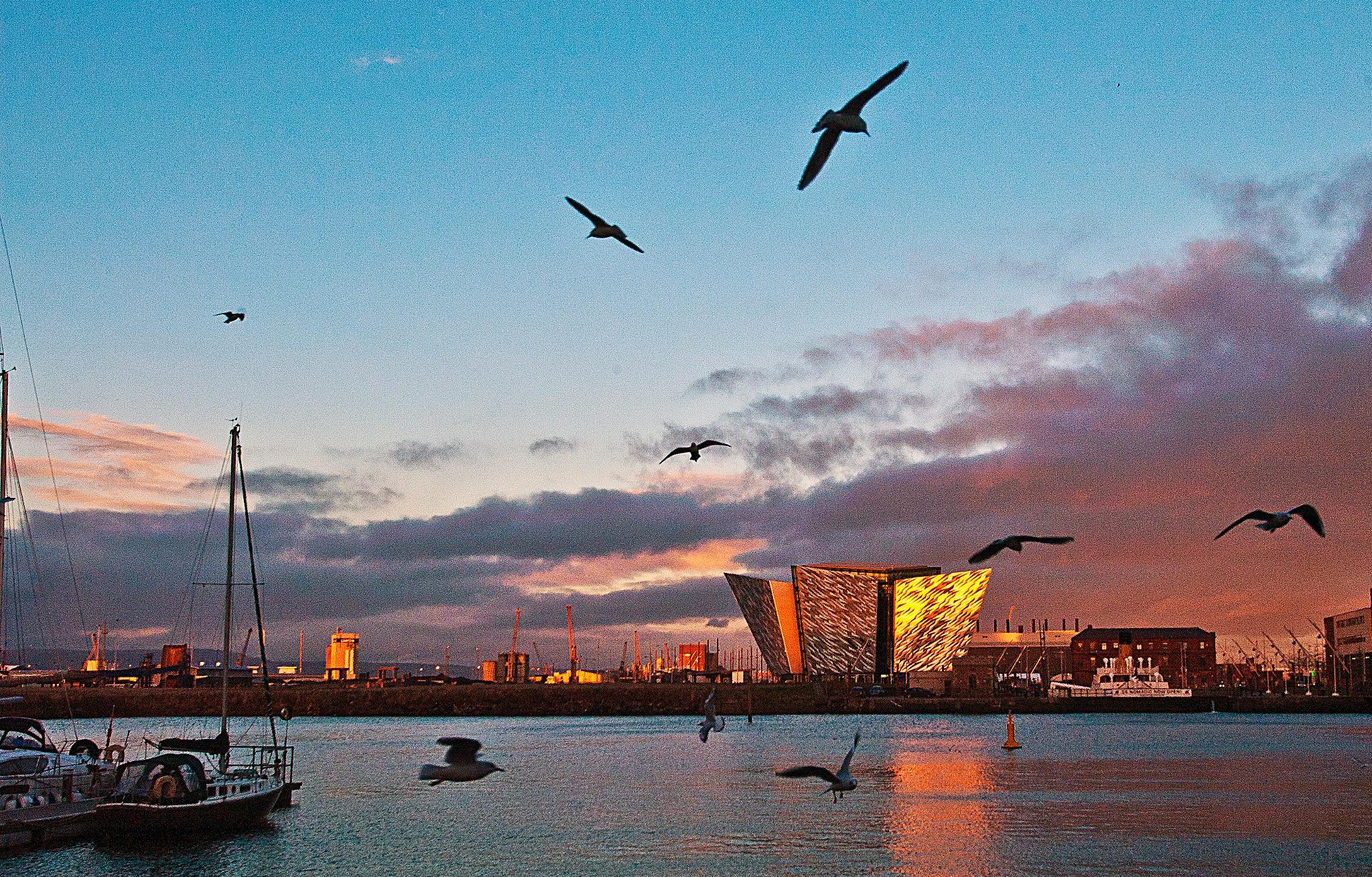 Titanic Quarter by PeterMChambers