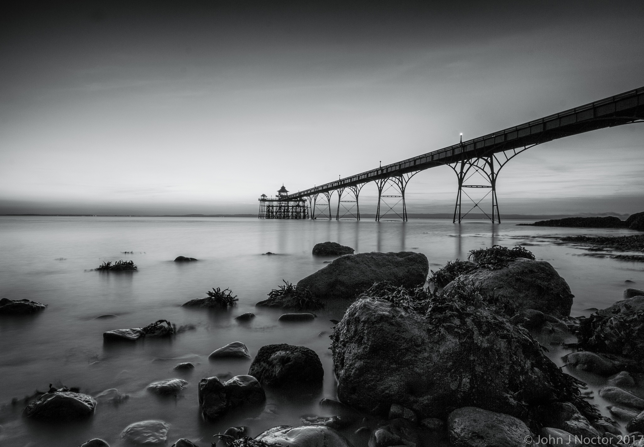 The Pier Revisited by JohnJN